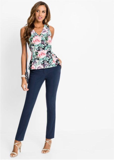 Pantaloni eleganti con borchie Blu scuro - BODYFLIRT boutique acquista online - bonprix.it Zsx5xLmC