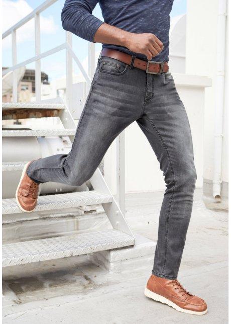 Jeans elasticizzati con T-400 slim fit straight Premium Grigio denim - John Baner JEANSWEAR ordina online - bonprix.it oyHh7oa0
