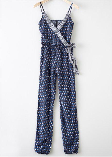 Tuta elegante con spalline sottili Nero / blu scuro - RAINBOW acquista online - bonprix.it TiVampgH