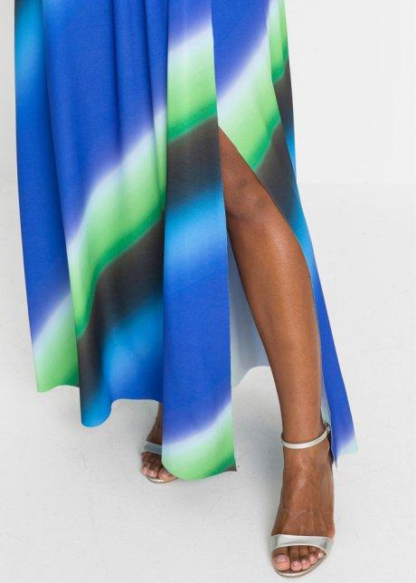 Abito lungo Blu / nero / verde a fasce - BODYFLIRT boutique ordina online - bonprix.it j54ptUF1