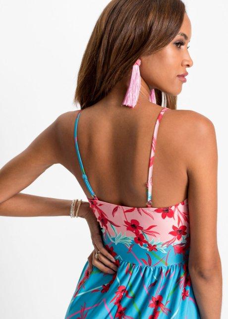 Abito con spacco Blu / fucsia fantasia - BODYFLIRT boutique acquista online - bonprix.it nWCUFXY7
