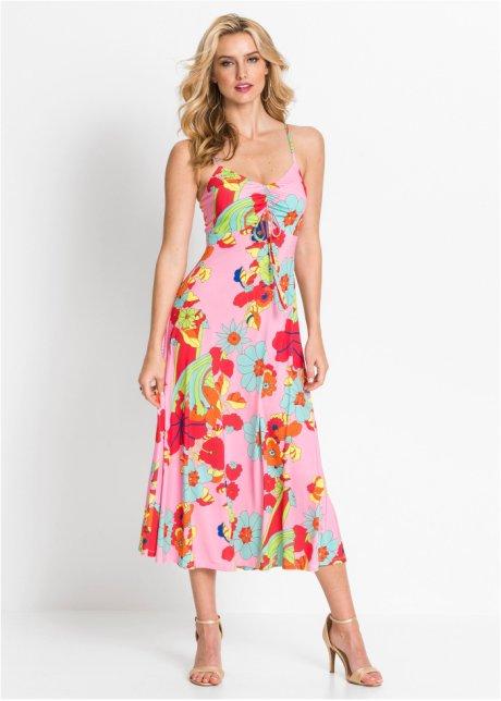 Abito con spalline sottili Rosa a fiori - BODYFLIRT boutique ordina online - bonprix.it 3nbXetXo
