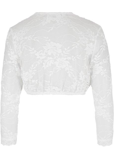 Maglia elasticizzata confortevole con scollo profondo che valorizza il décolleté - Bianco qfltKdNB