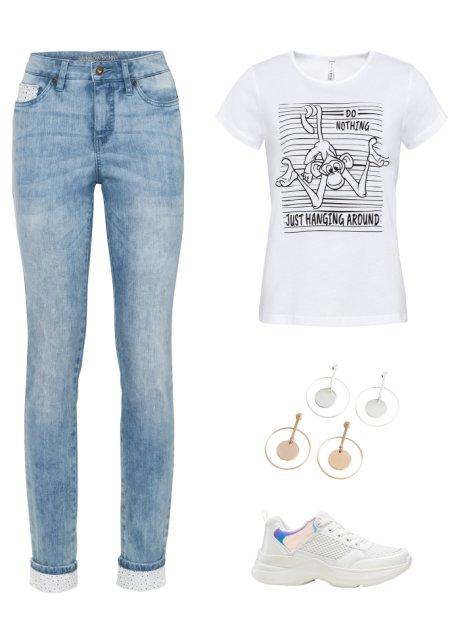 Jeans skinny Blu bleached - Donna - RAINBOW - bonprix.it 8q4APuTg