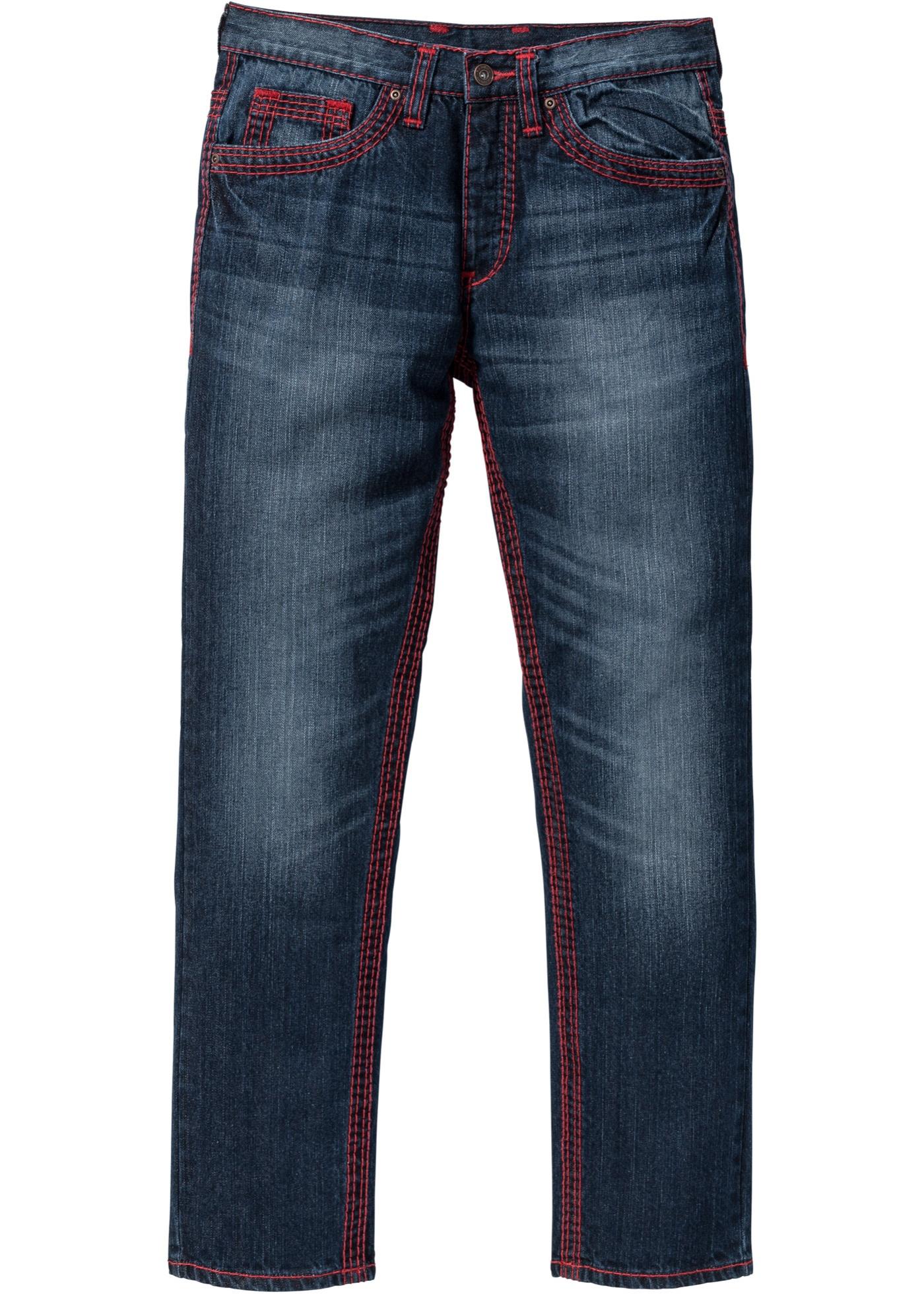 Jeans straight  Blu  - RA