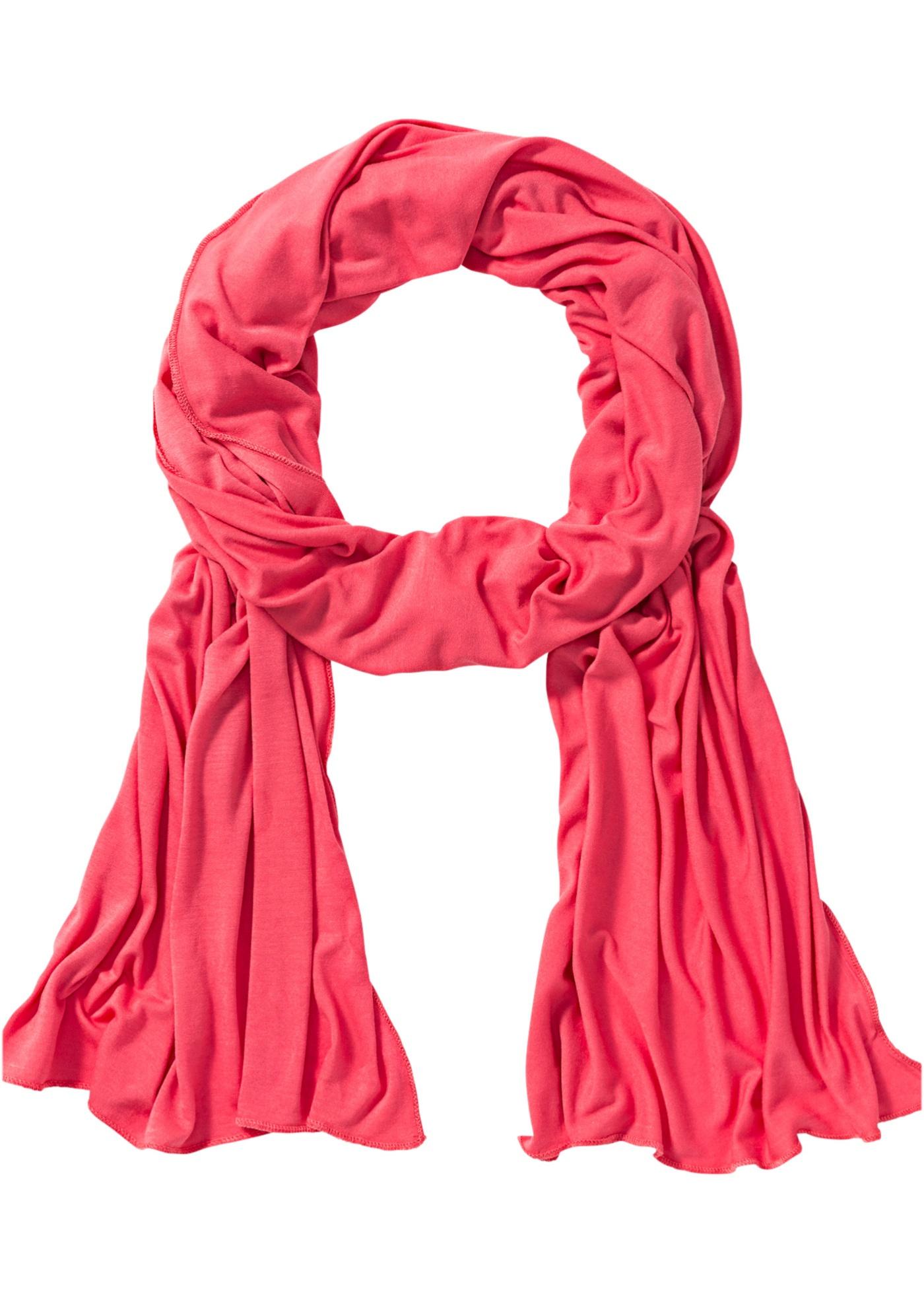 Sciarpina in jersey  rosa
