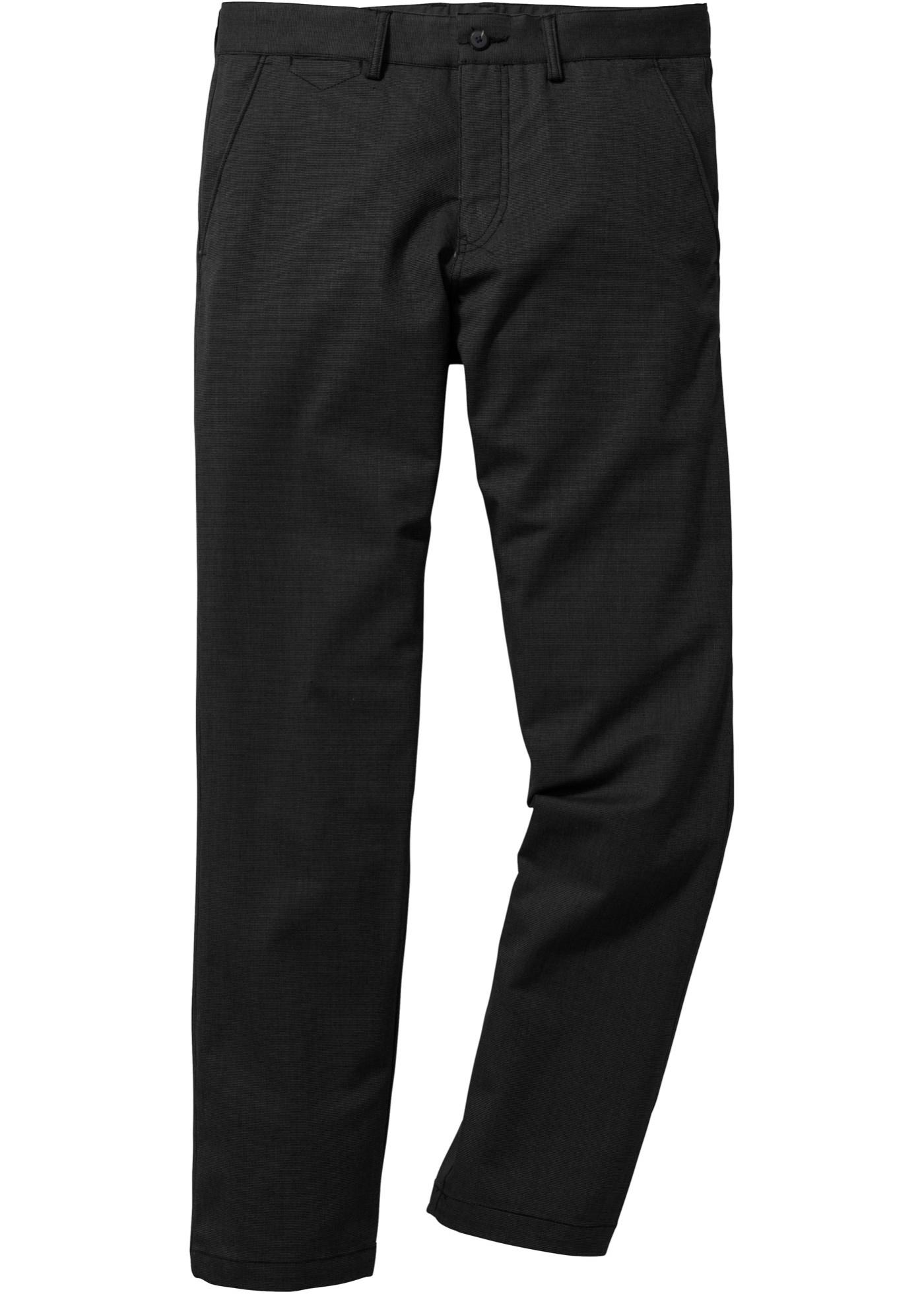 Pantalone chino effetto l