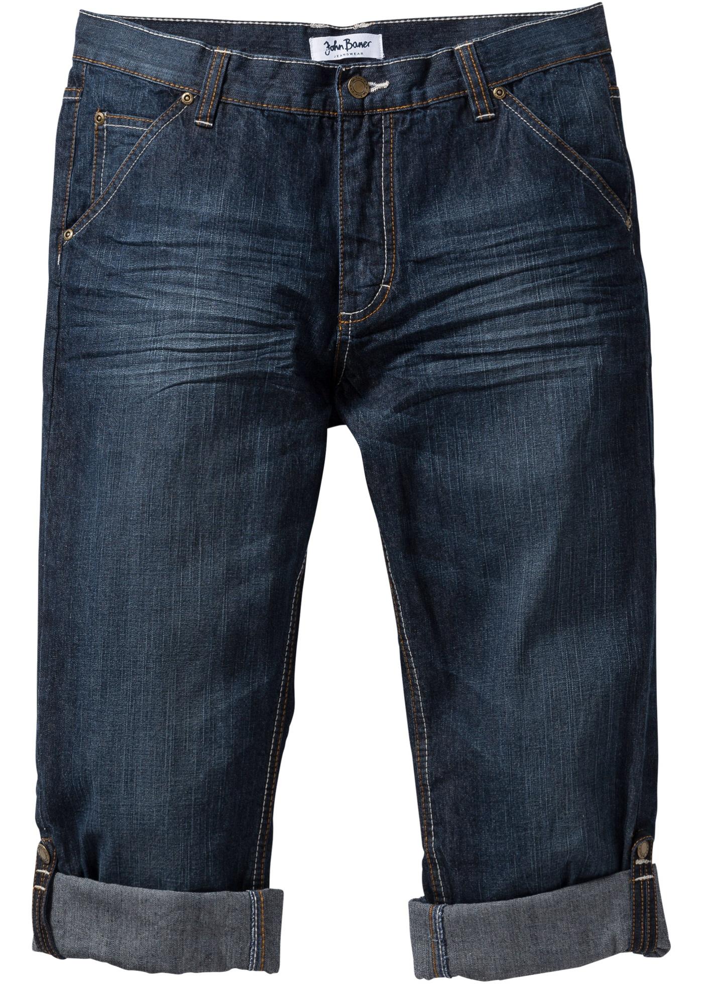 Jeans con risvolto regula