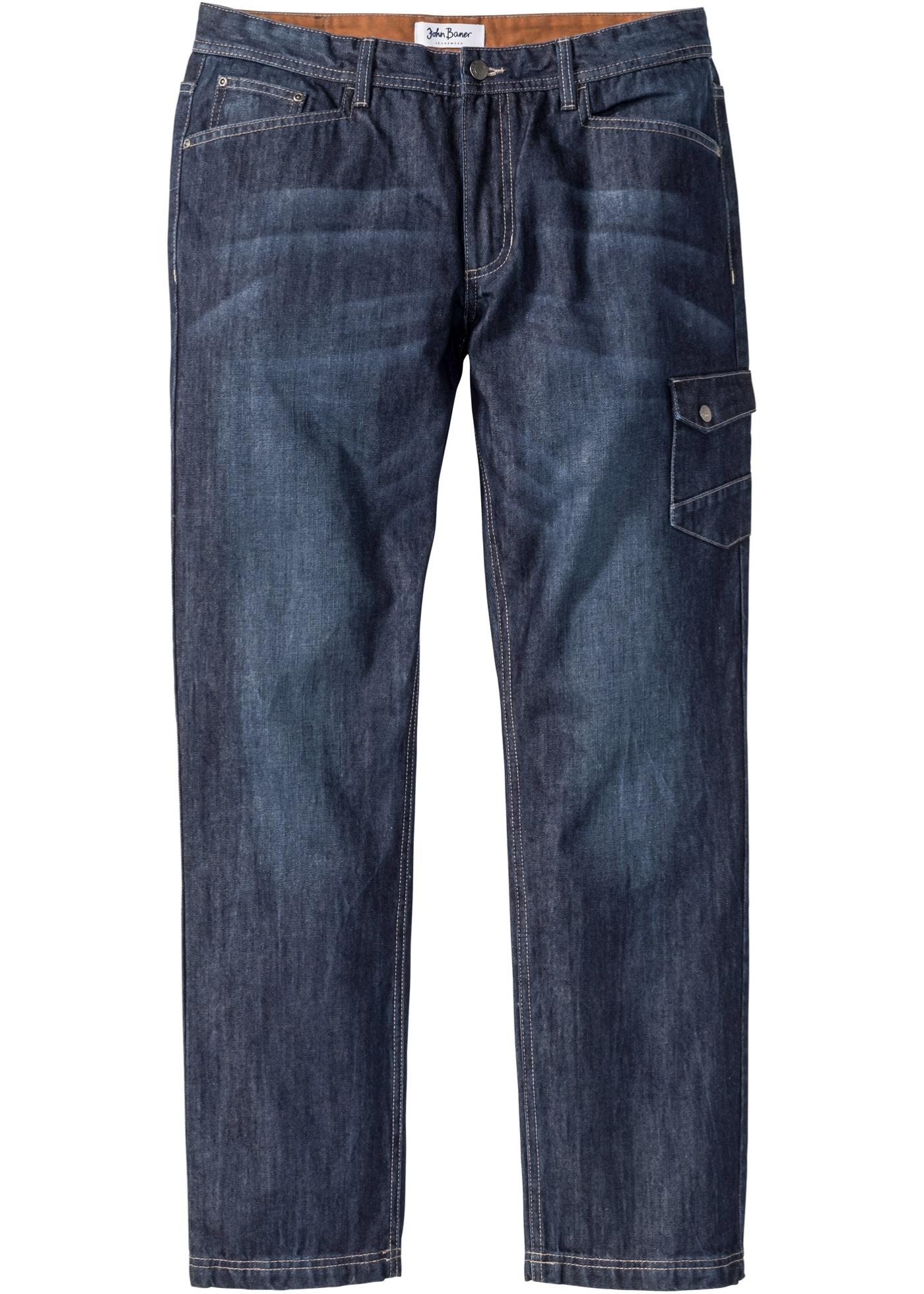 Jeans con tasche laterali