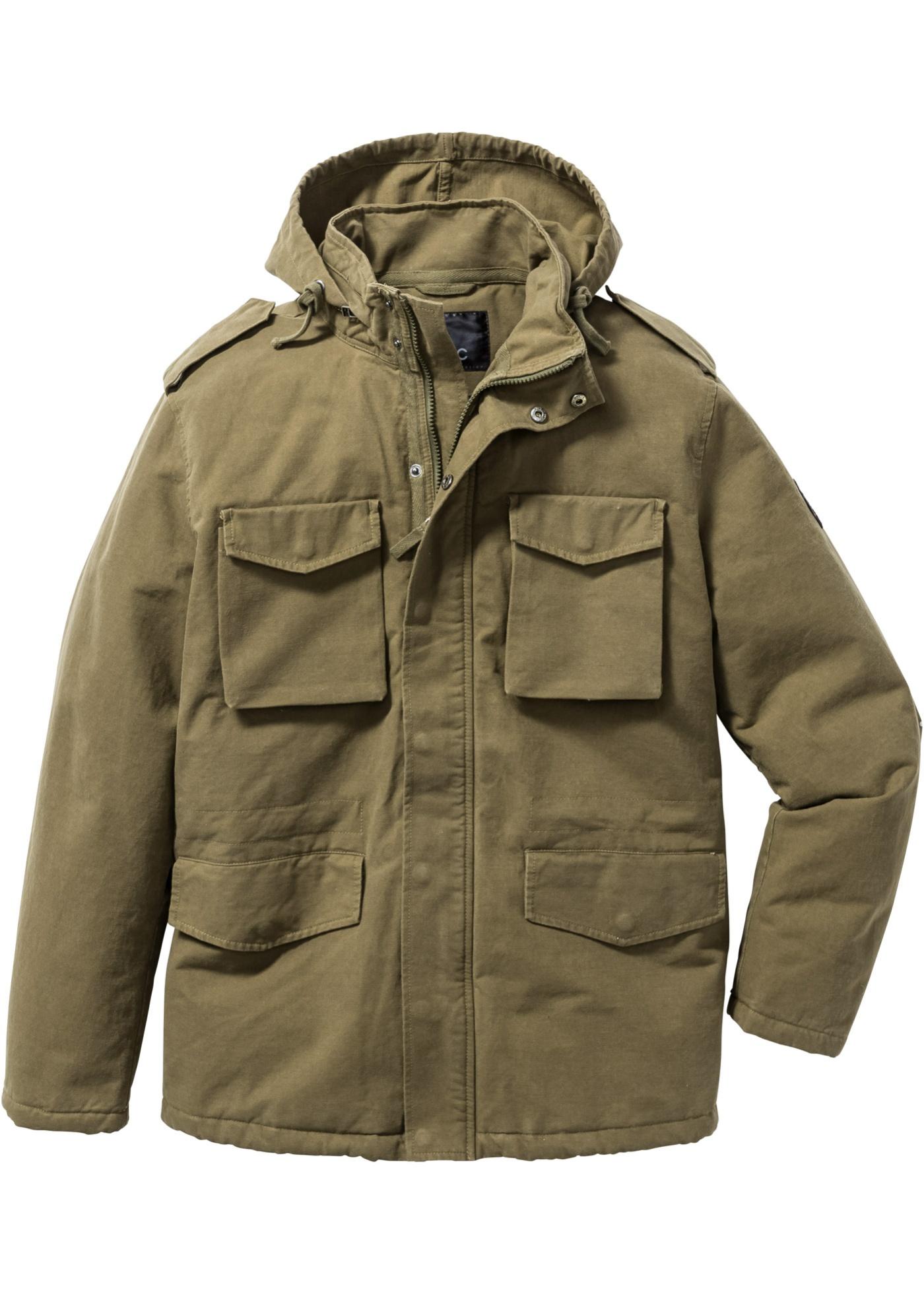 Field jacket con imbottit