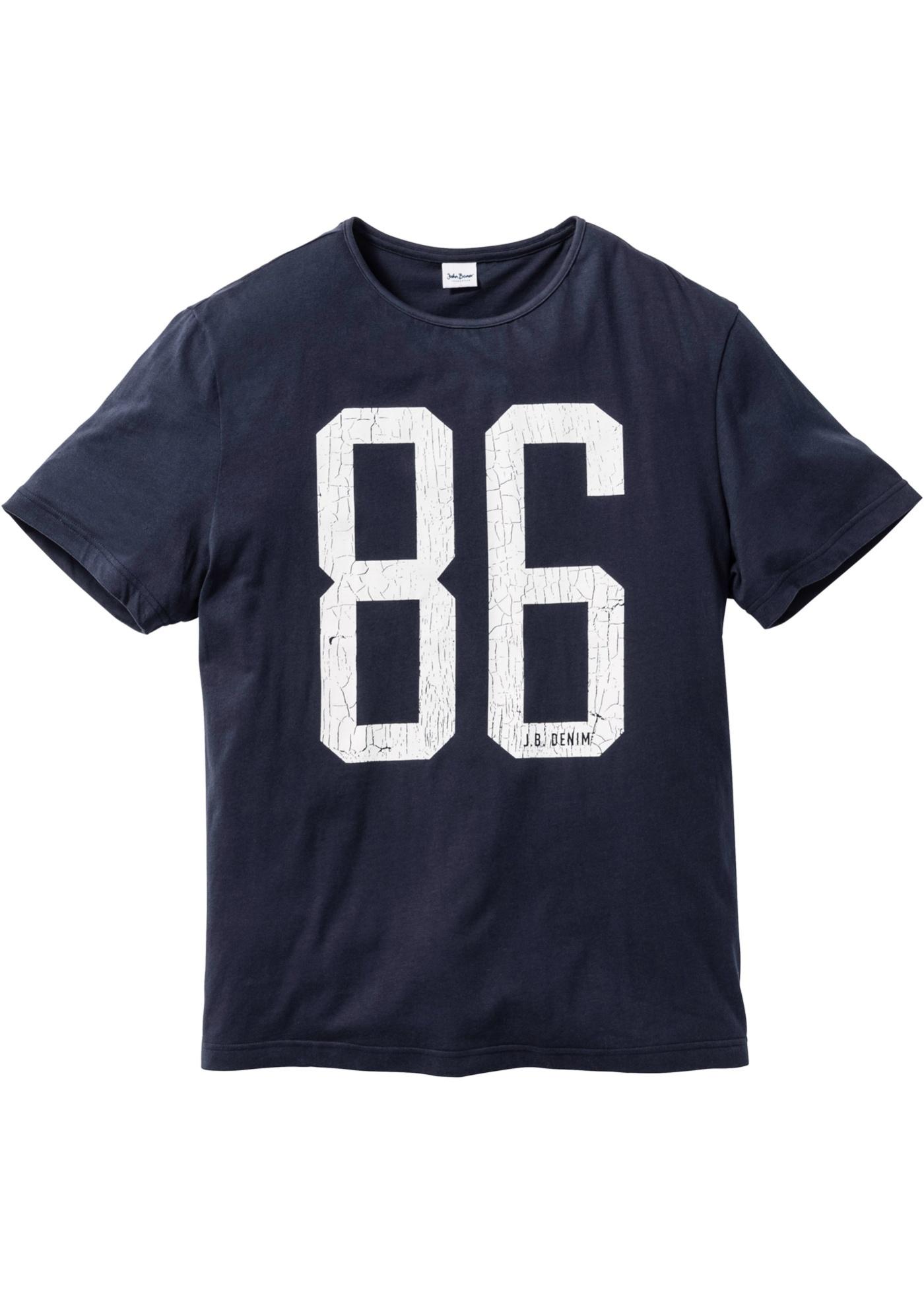 T-shirt regular fit  Blu