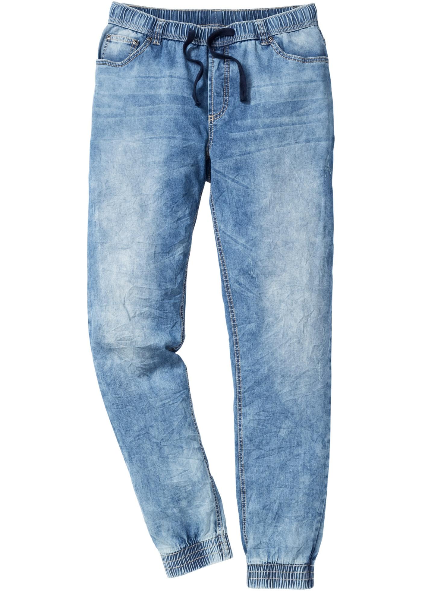 Jeans con elastico slim f