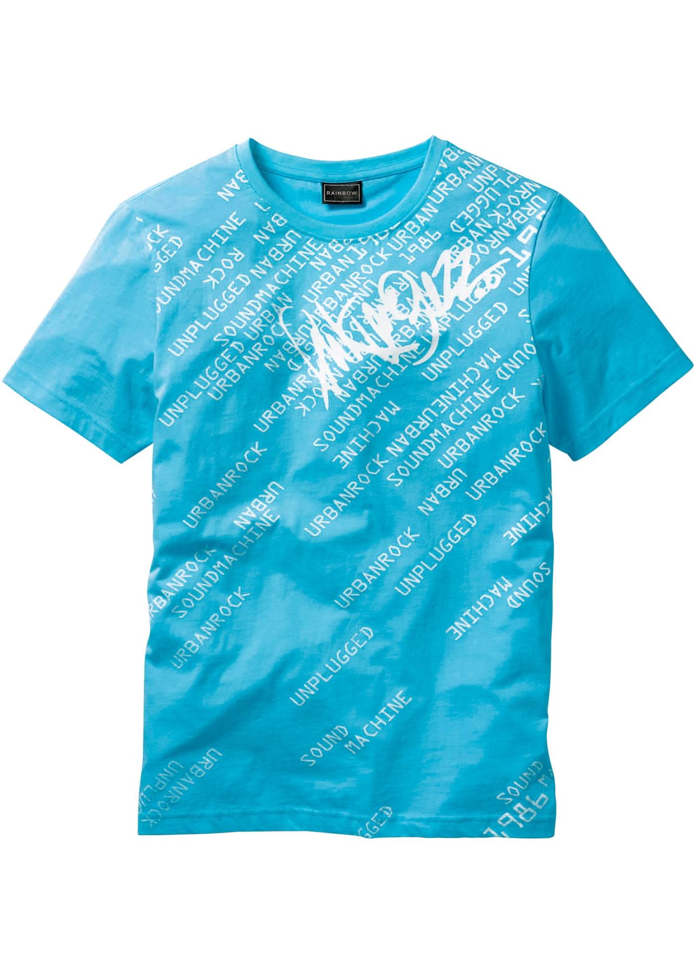 T-shirt slim fit  Blu  -
