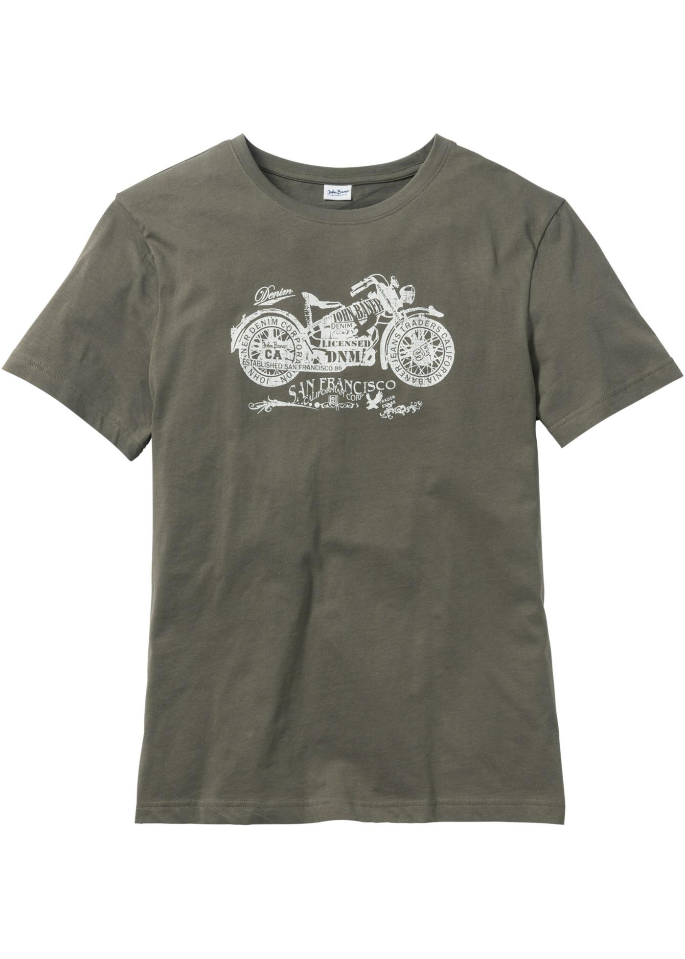 T-shirt regular fit  Verd