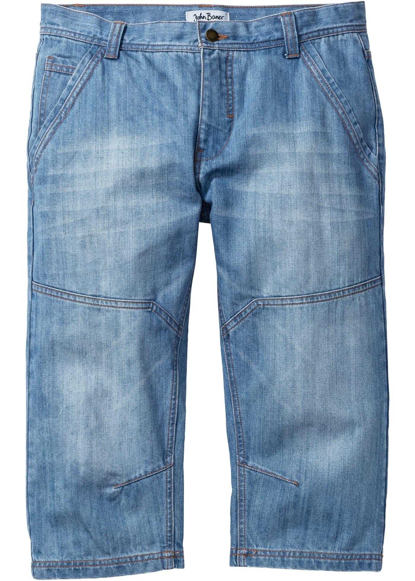 Jeans 3 4 regular fit tap