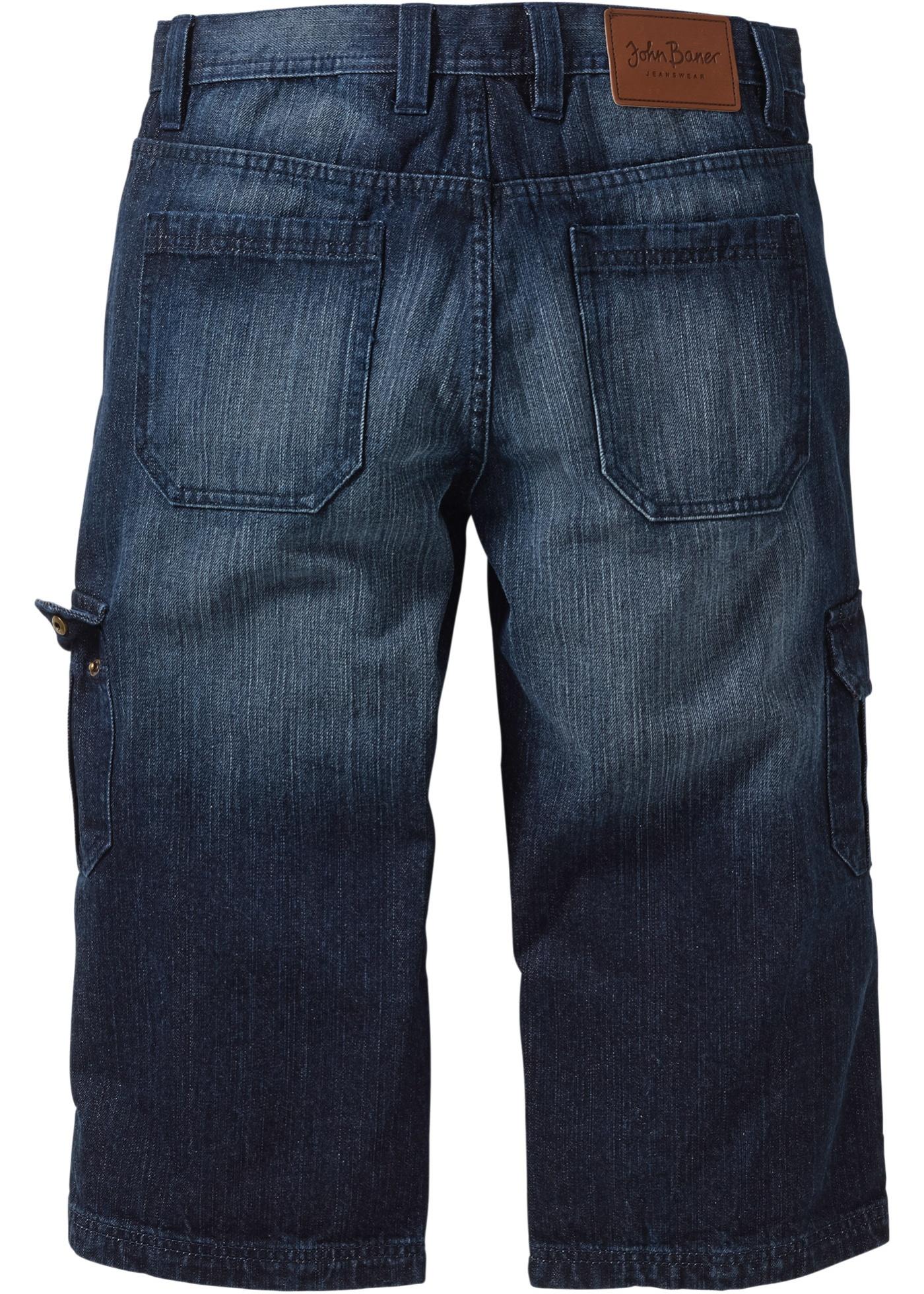 Jeans 3 4 regular fit str