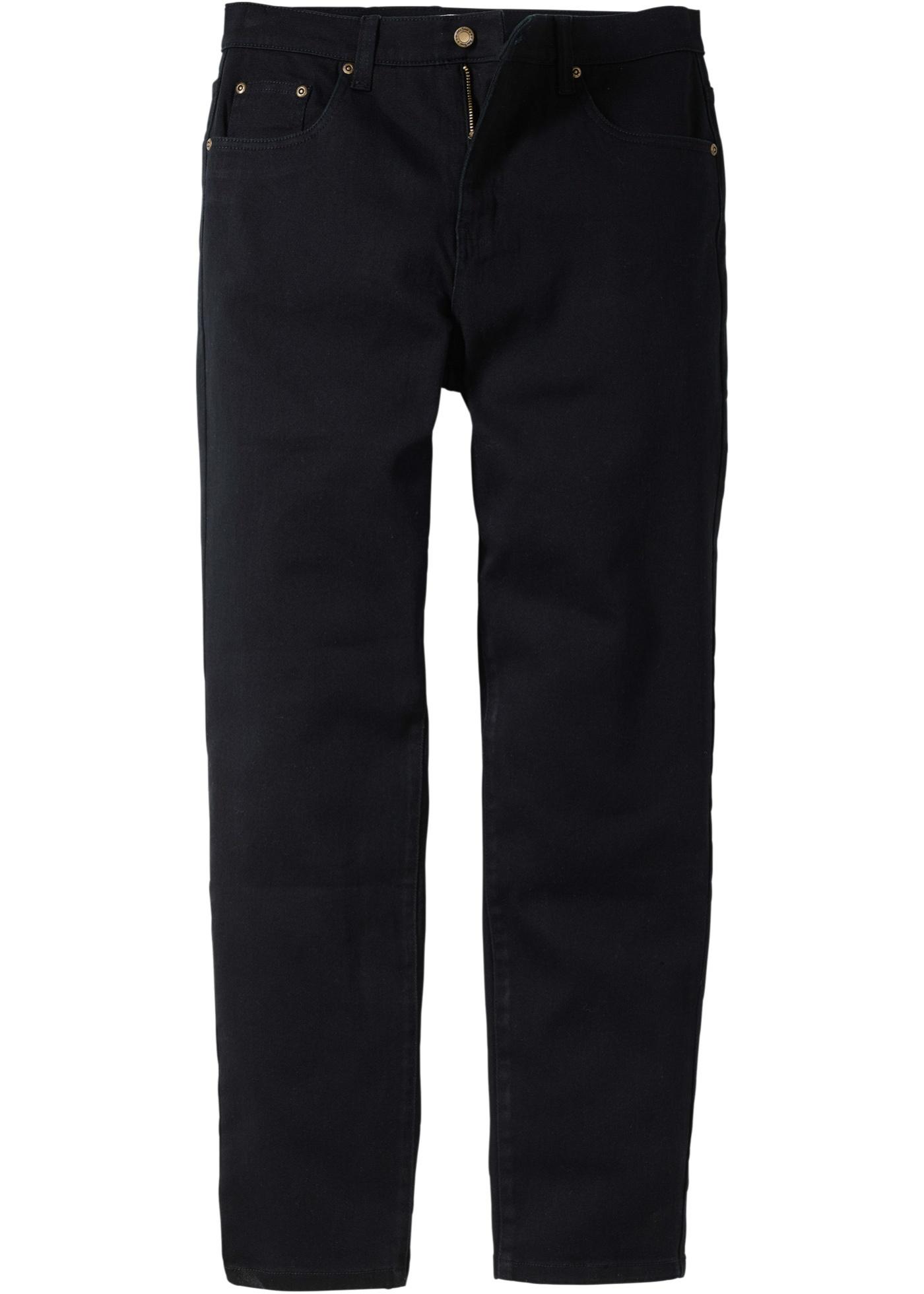 Jeans classic fit  Nero