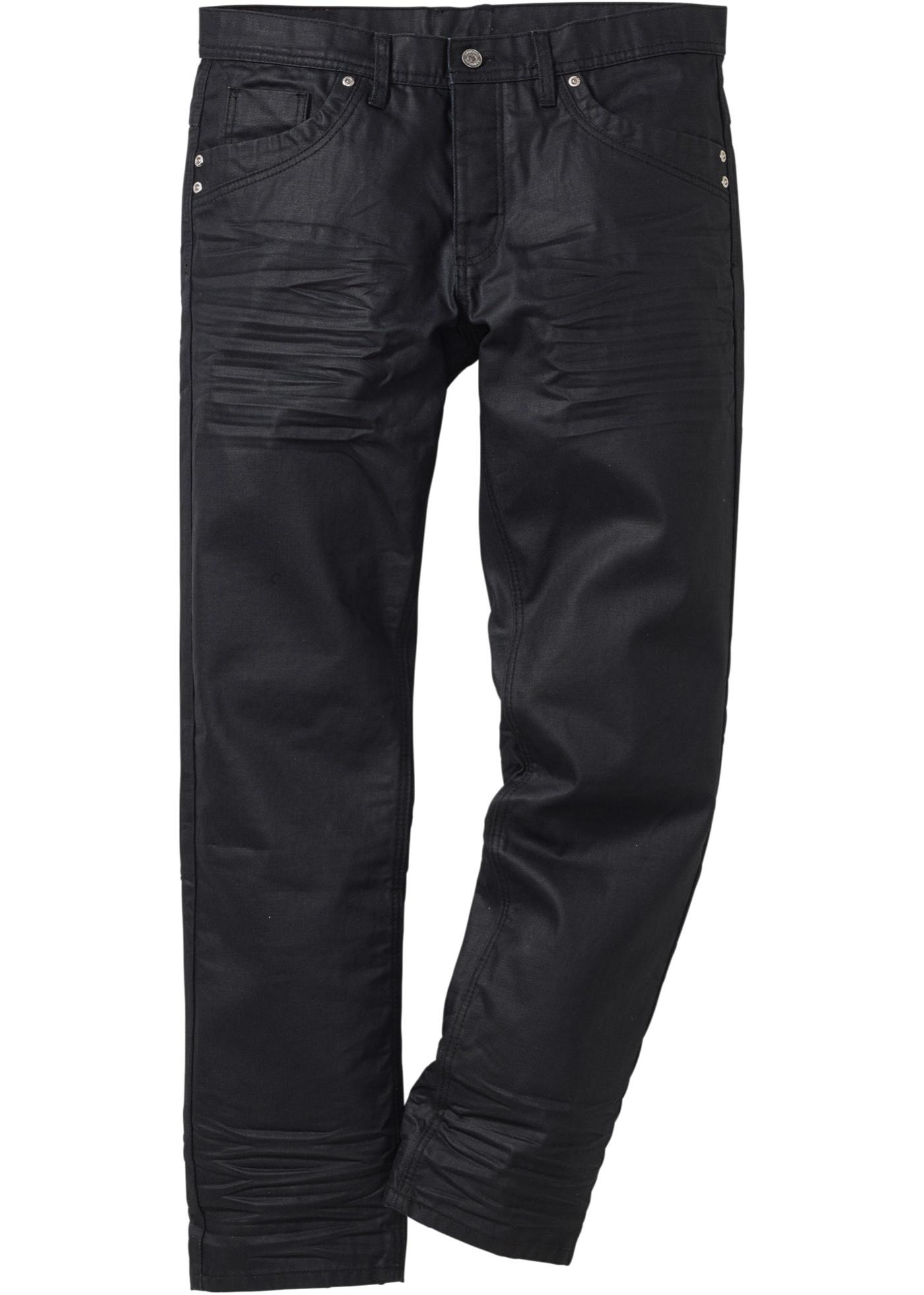 Jeans straight  Nero  - R