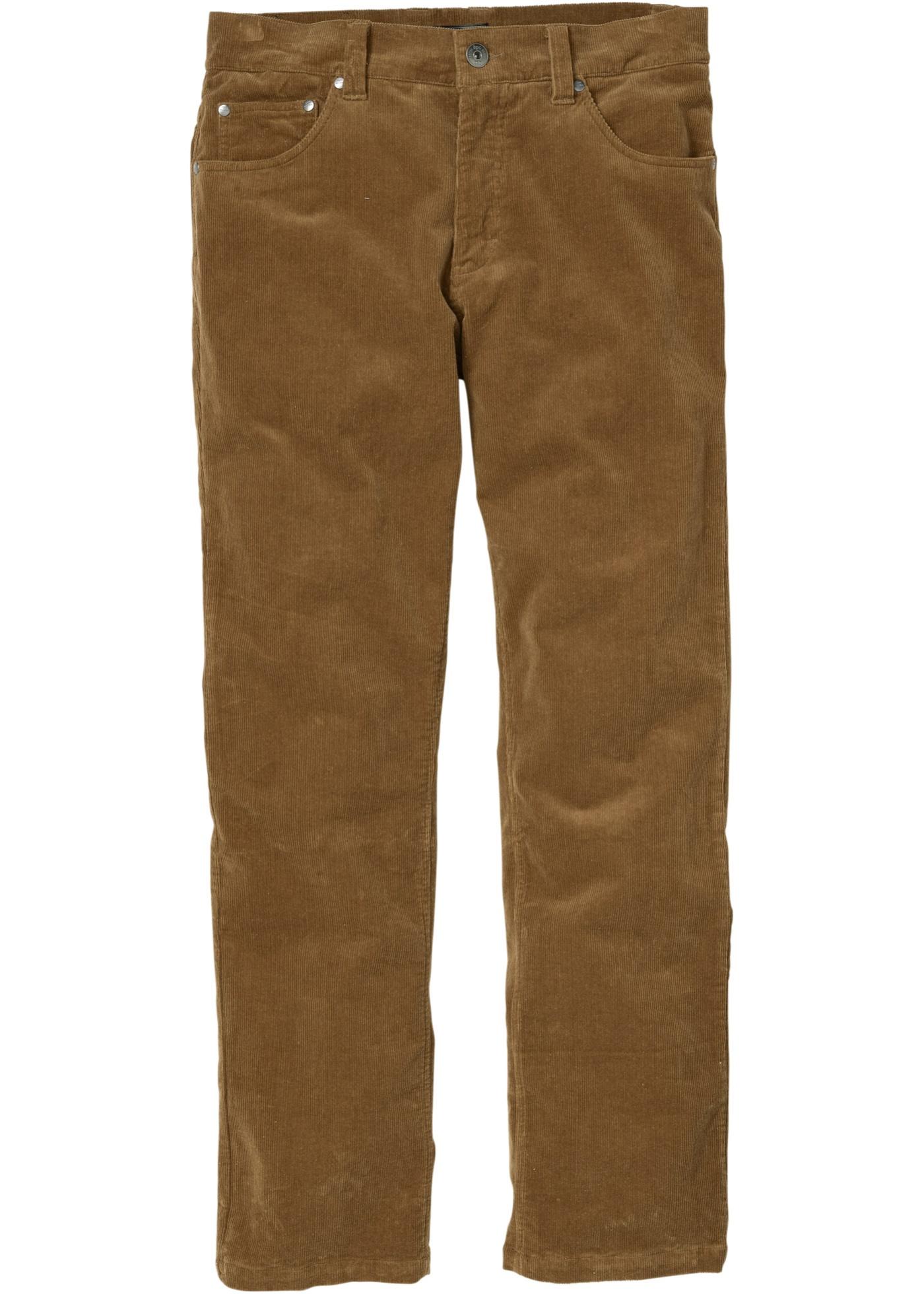 Pantalone in velluto elas