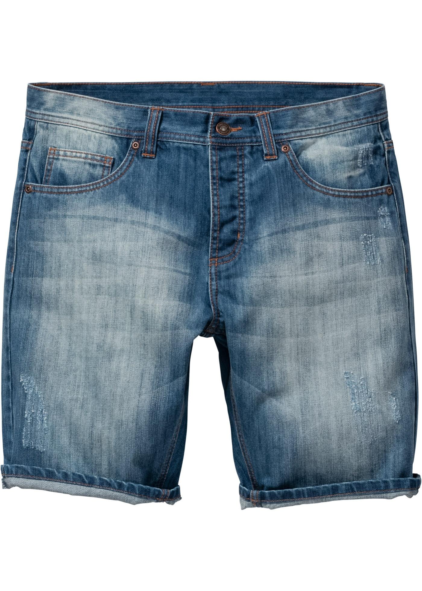 Bermuda in jeans loose fi
