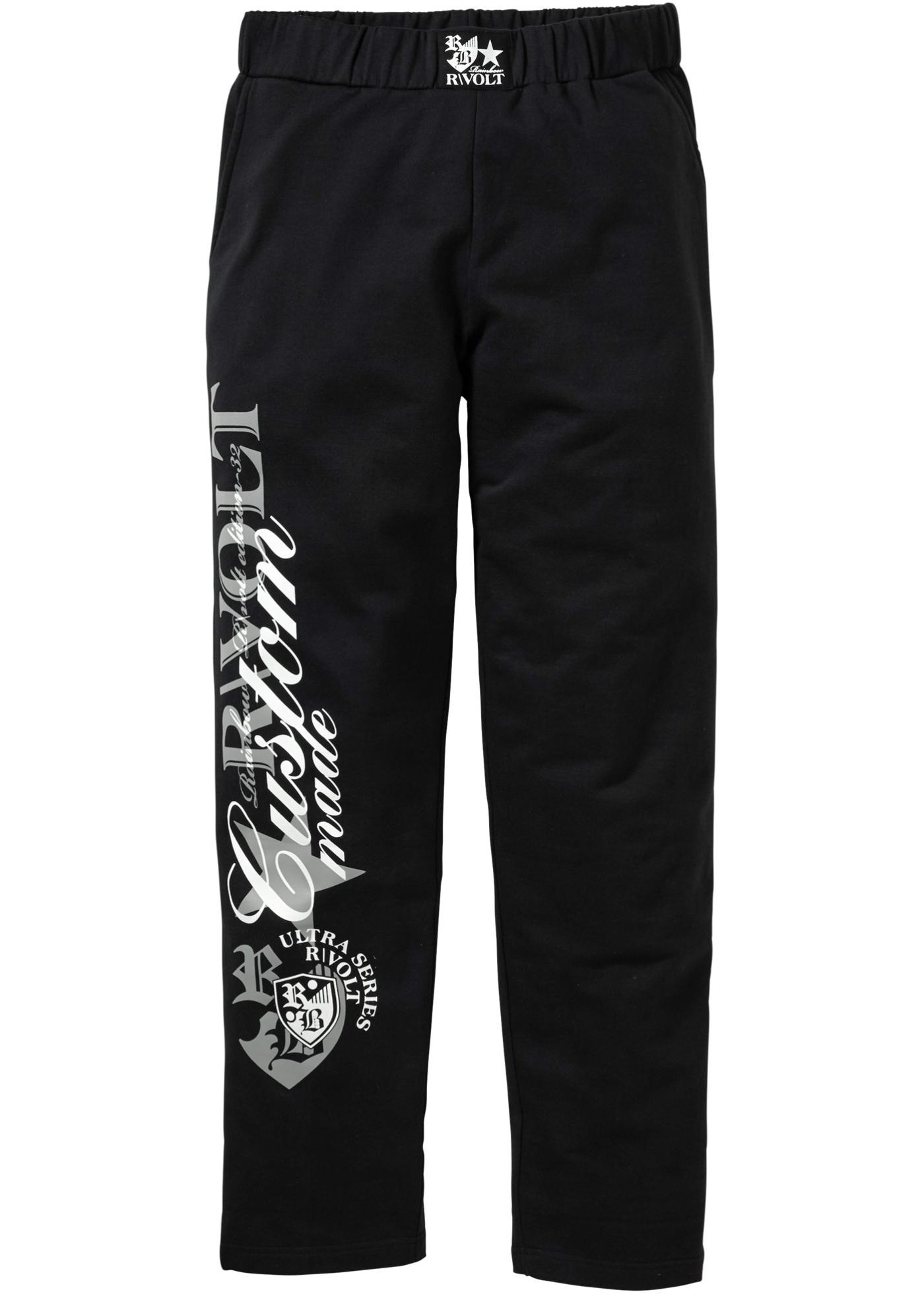 Pantalone in felpa  Nero