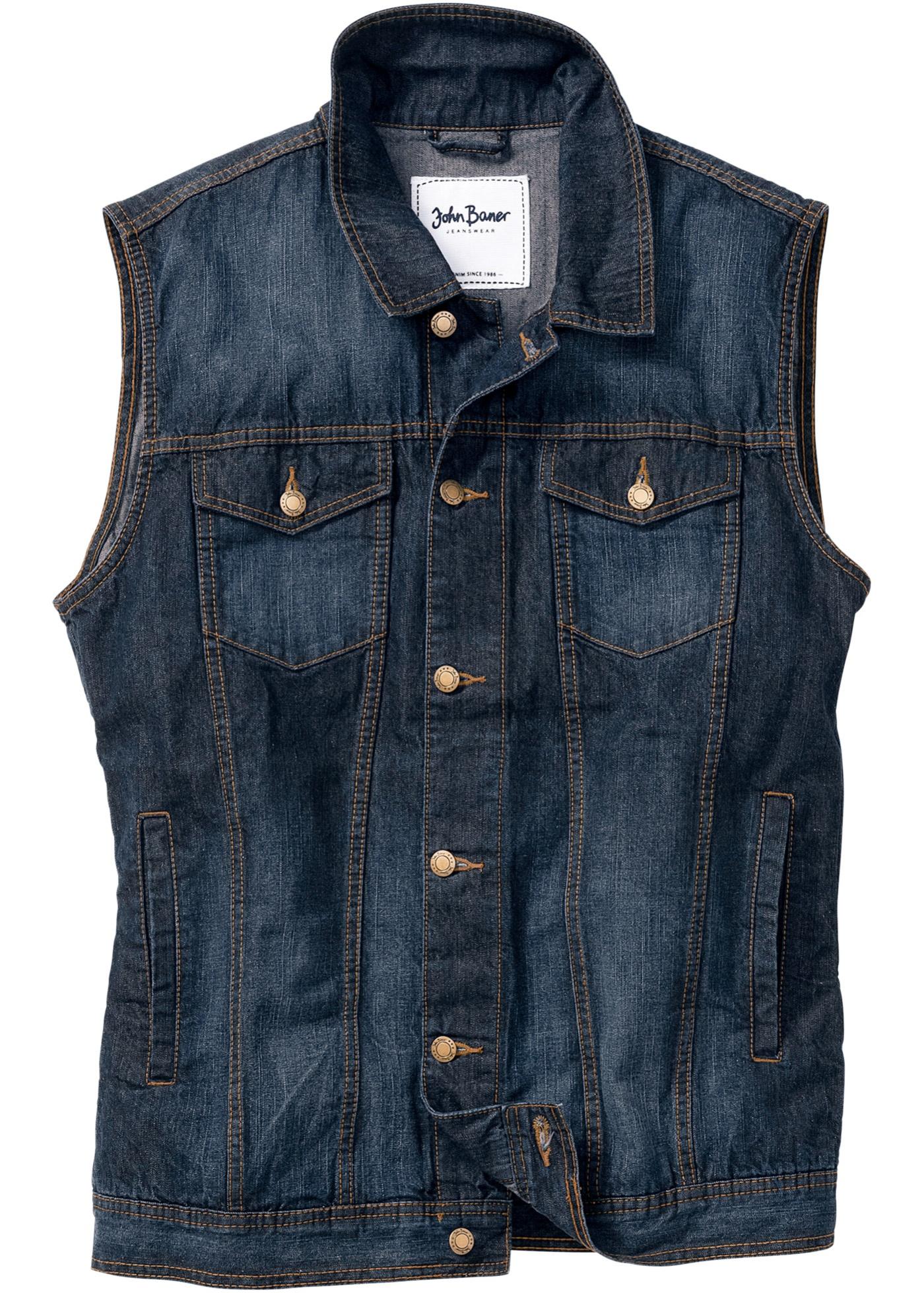 Gilet in jeans regular fi
