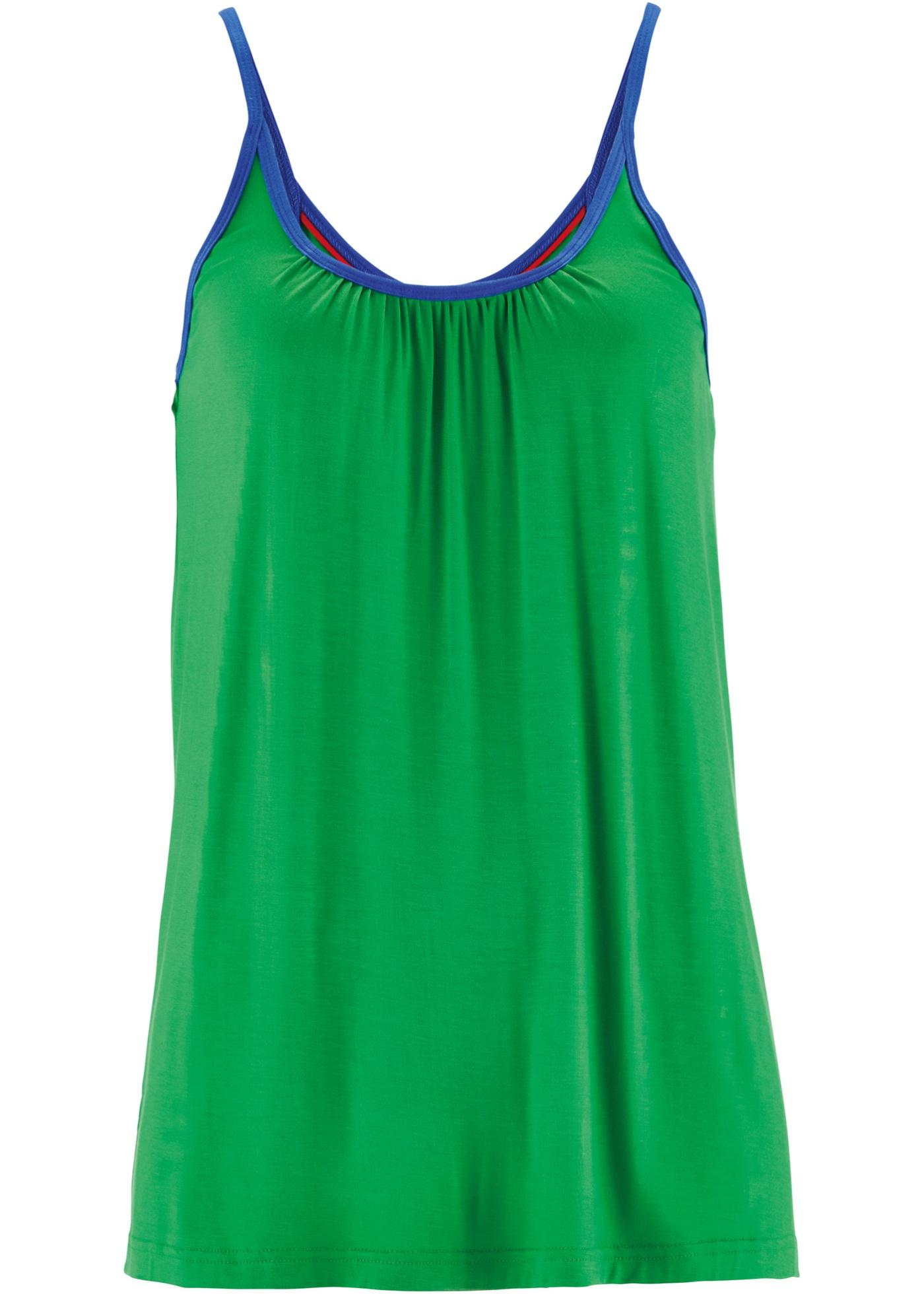 Top elasticizzato  Verde