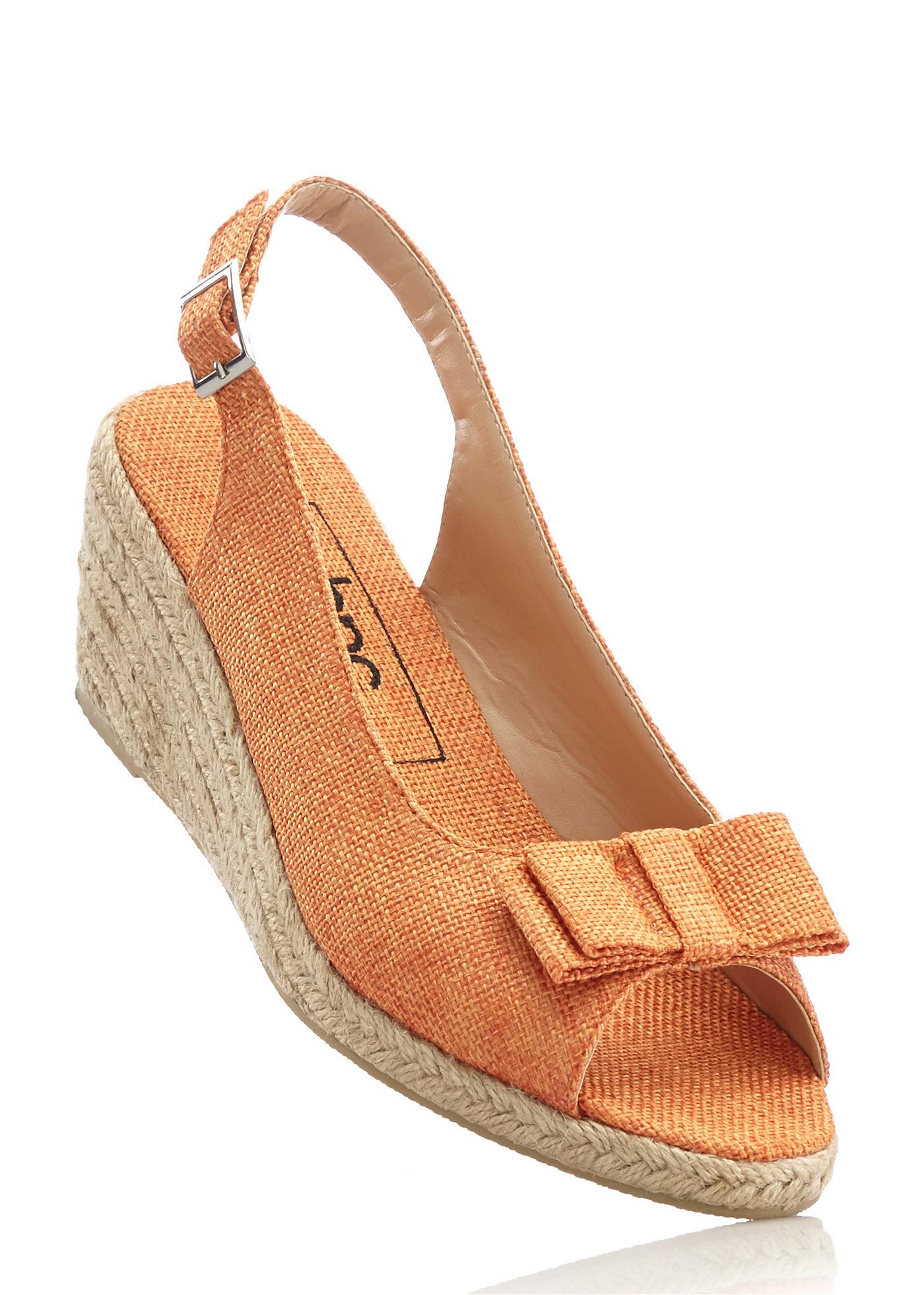 Sandalo con zeppa  Aranci