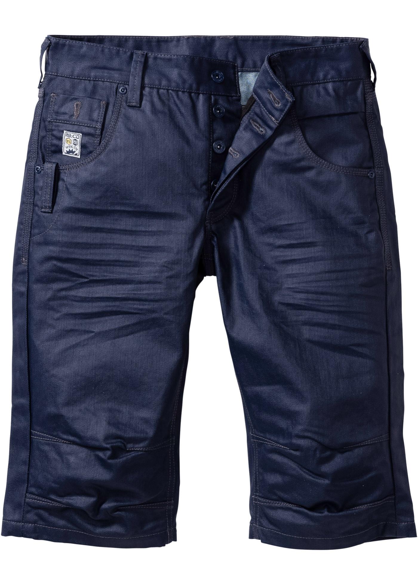 Bermuda di jeans lungo lo