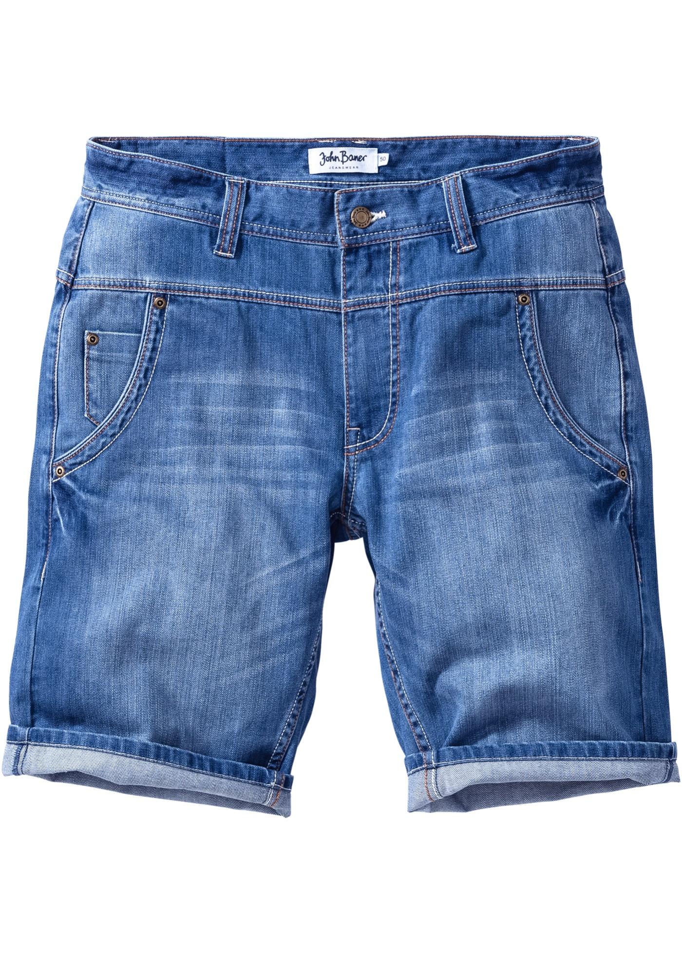 Bermuda di jeans loose fi
