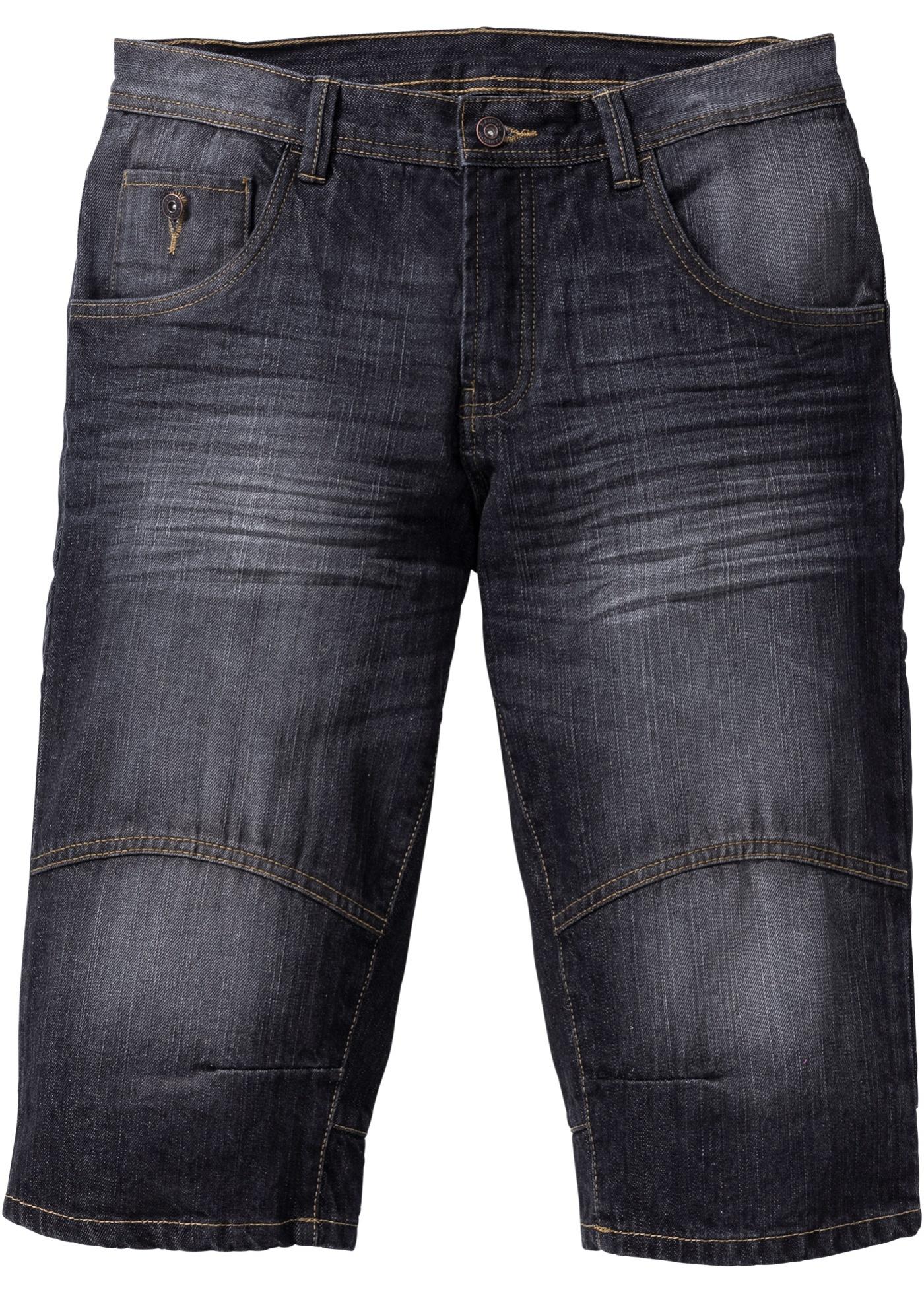Bermuda lungo di jeans lo