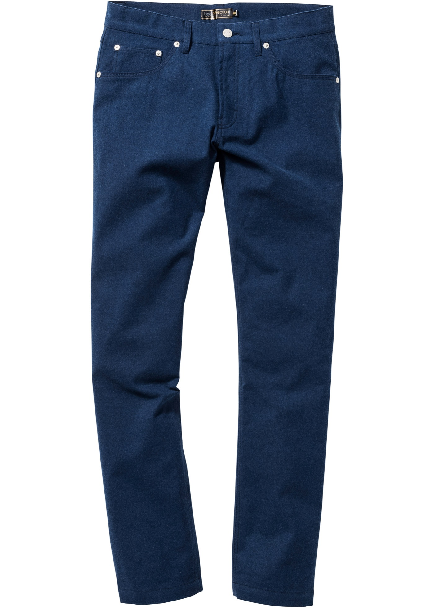 Pantalone 5 tasche flanel