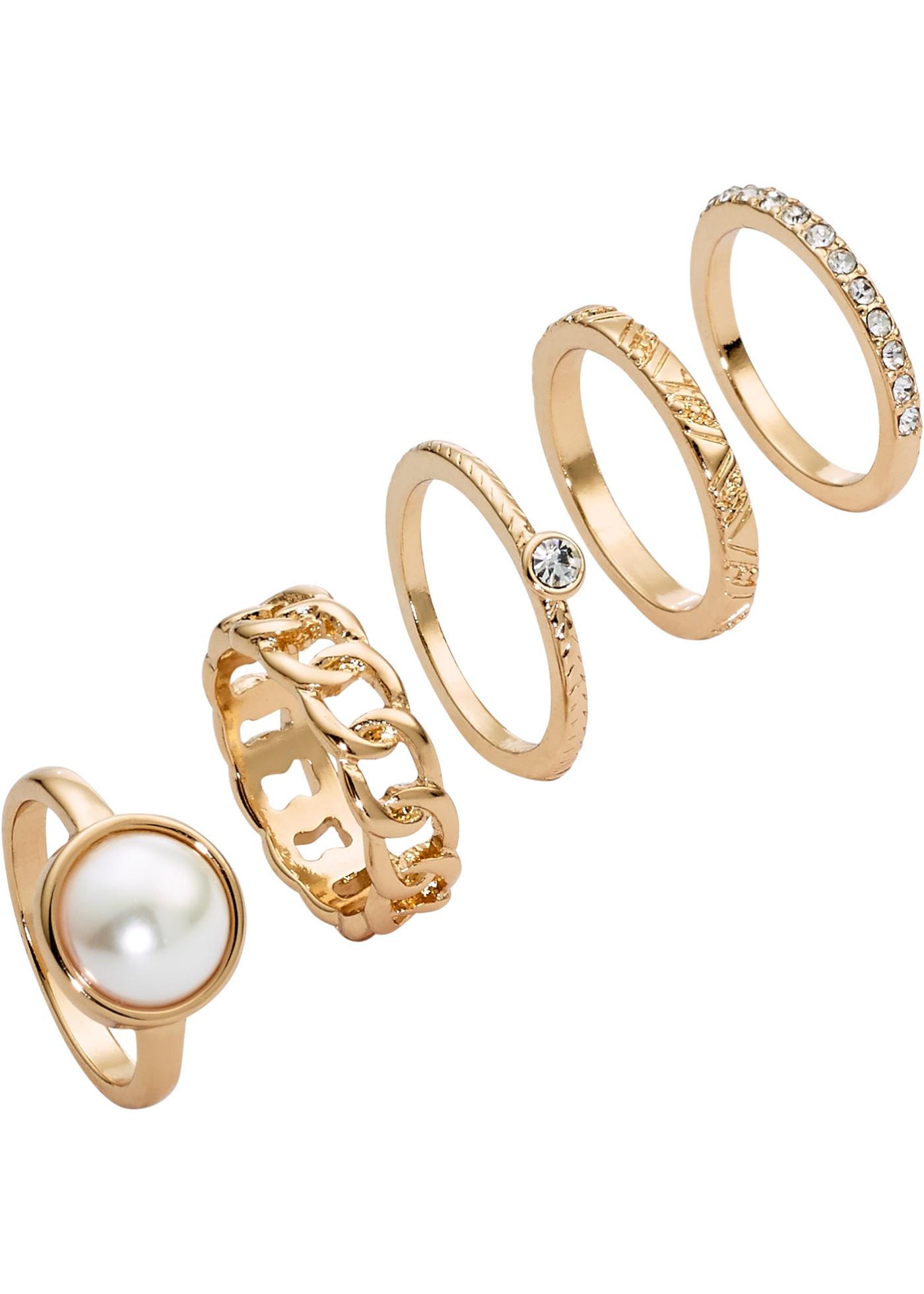 Set di anelli  set 5 pezz