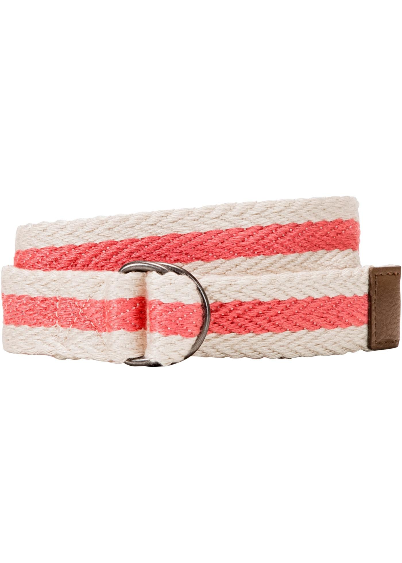 Cintura in cotone a righe