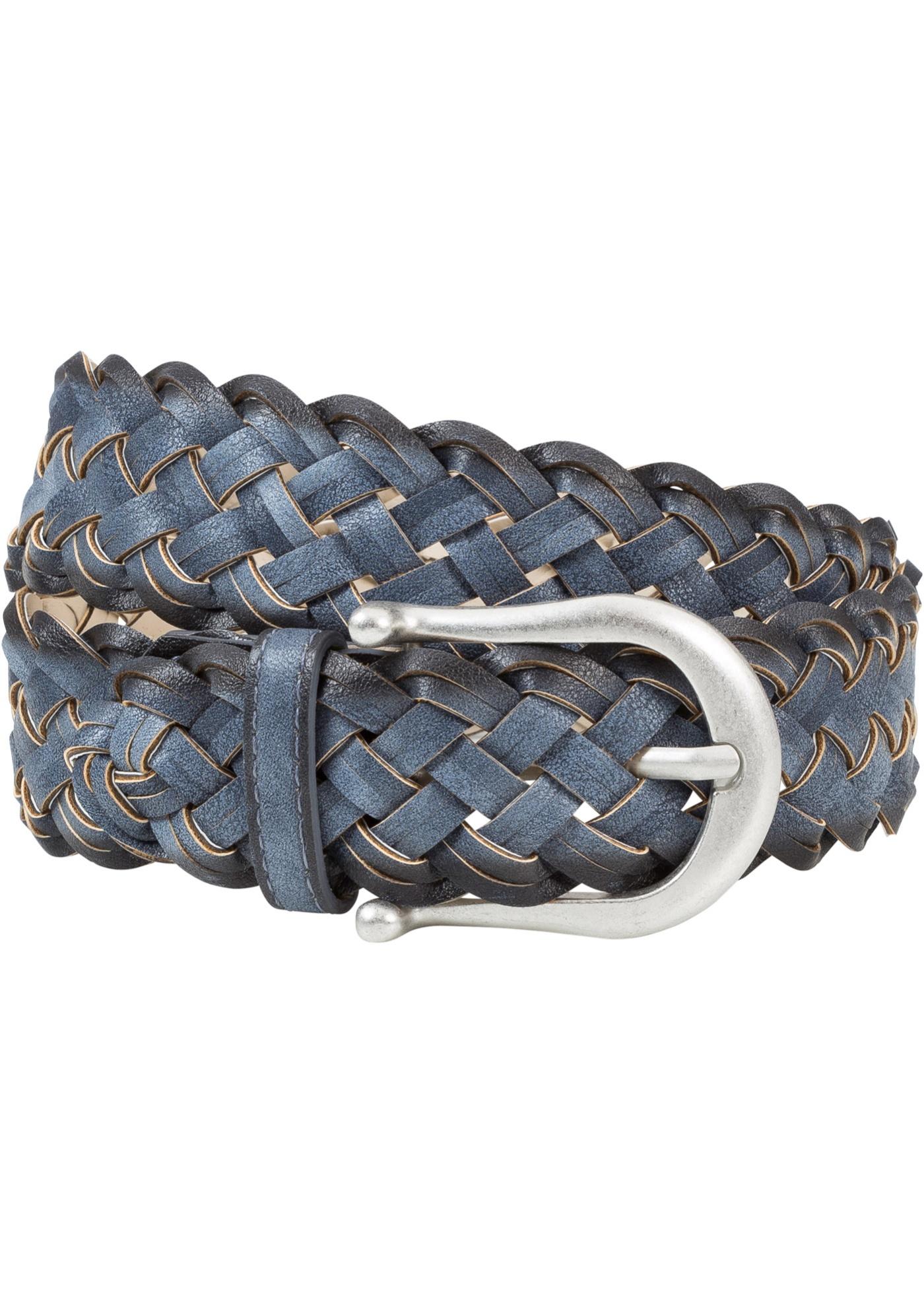 Cintura intrecciata  Blu