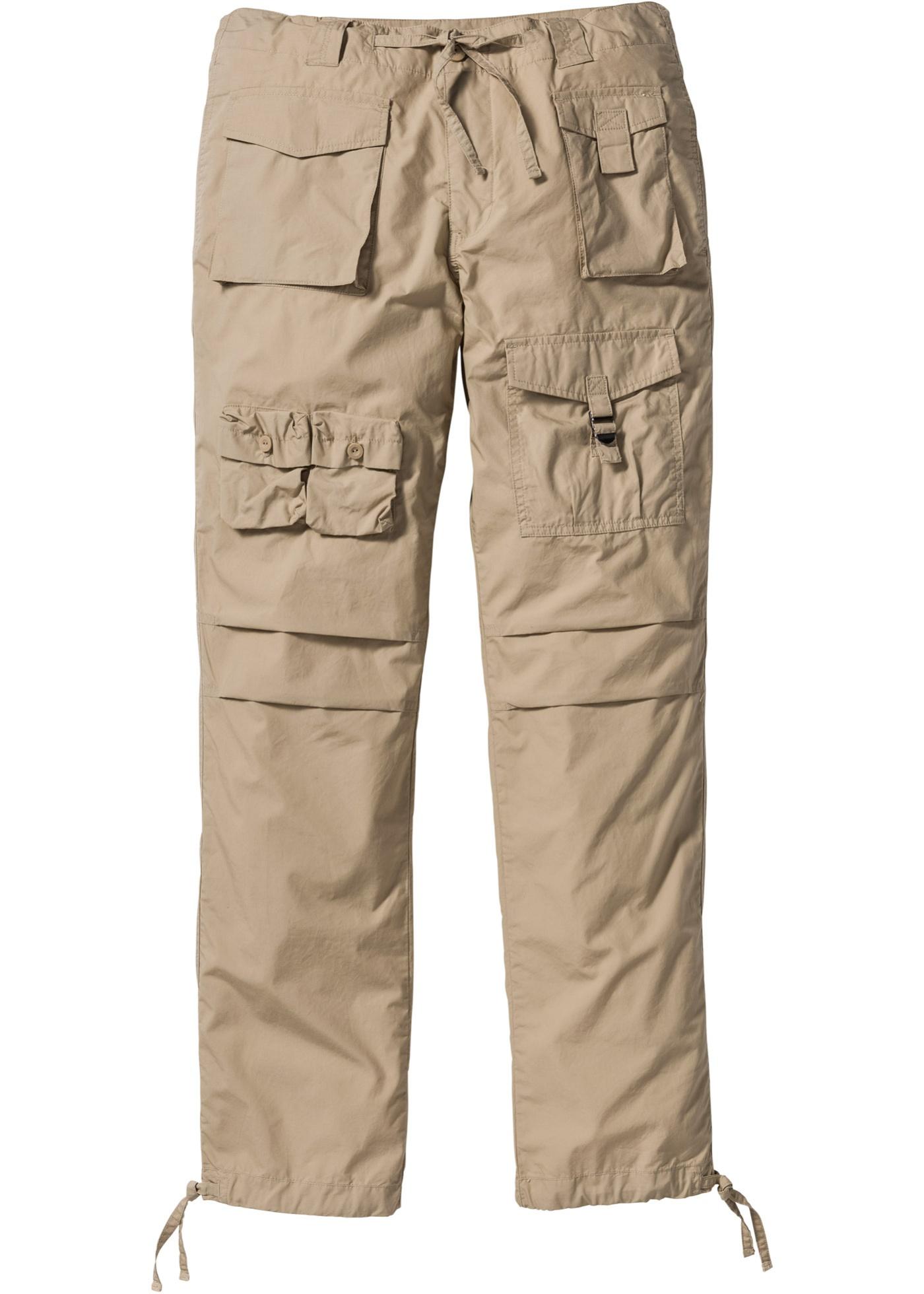 Pantalone cargo loose fit