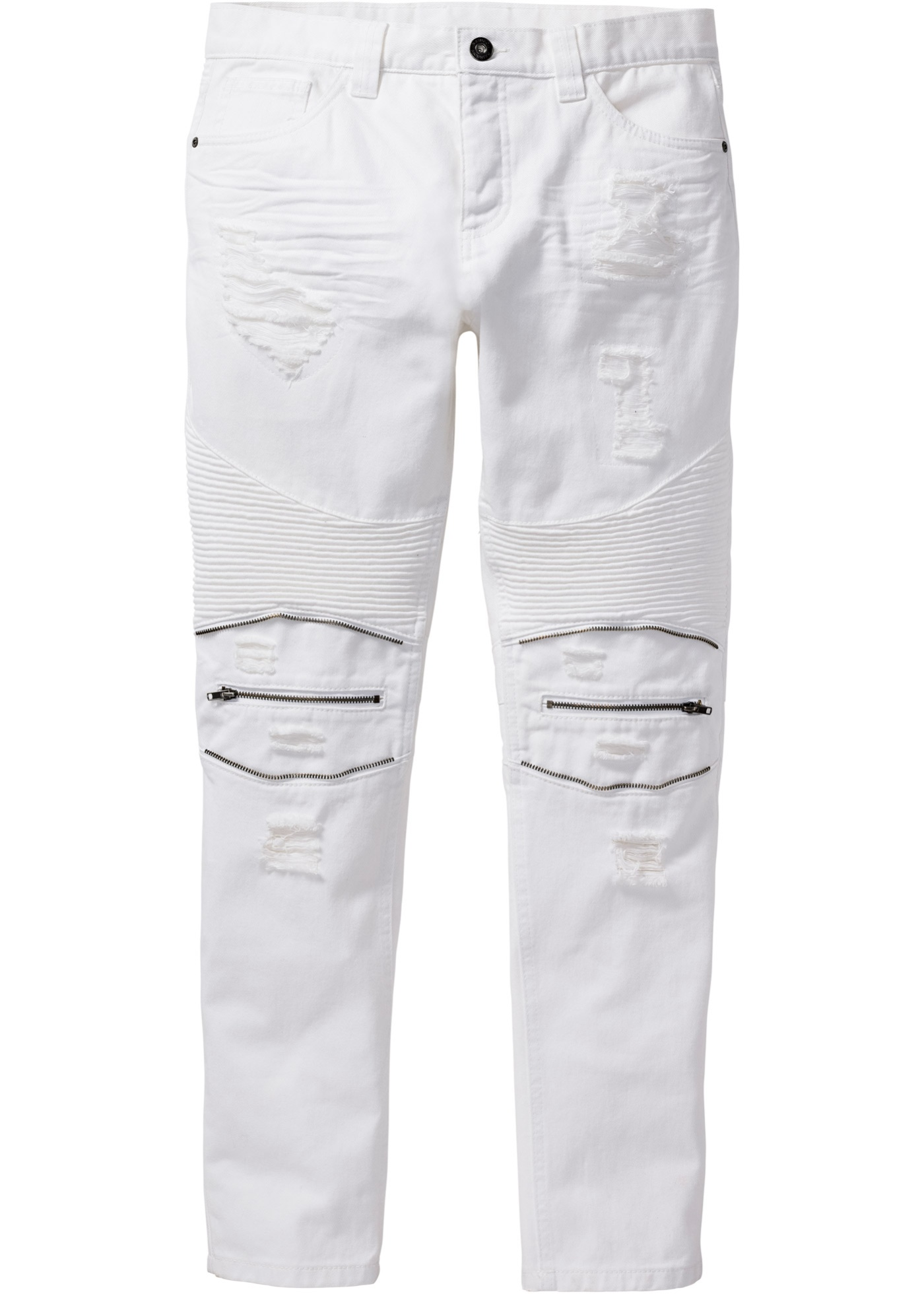 Jeans TAPERED  Bianco  -