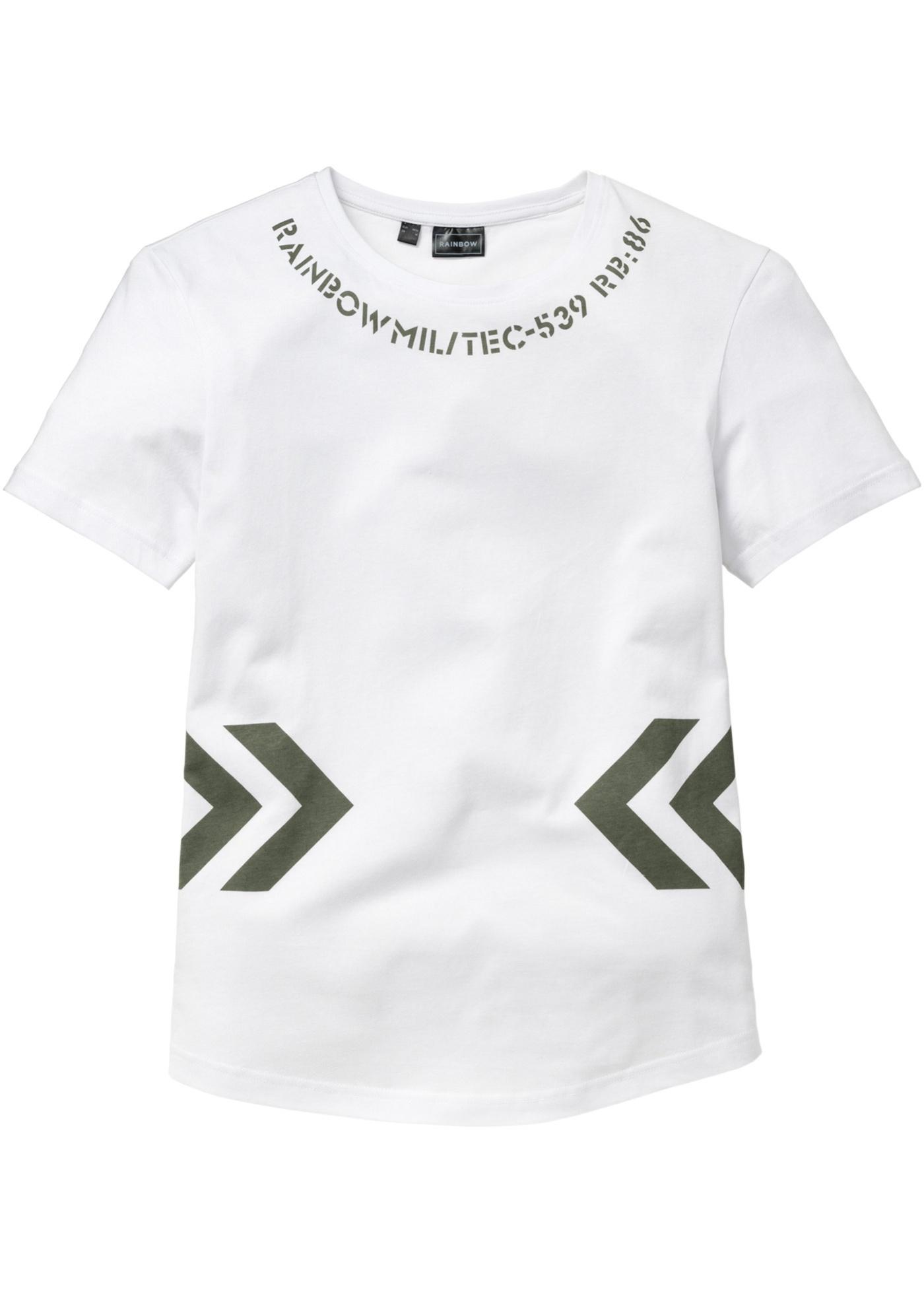 T-shirt lunga regular fit