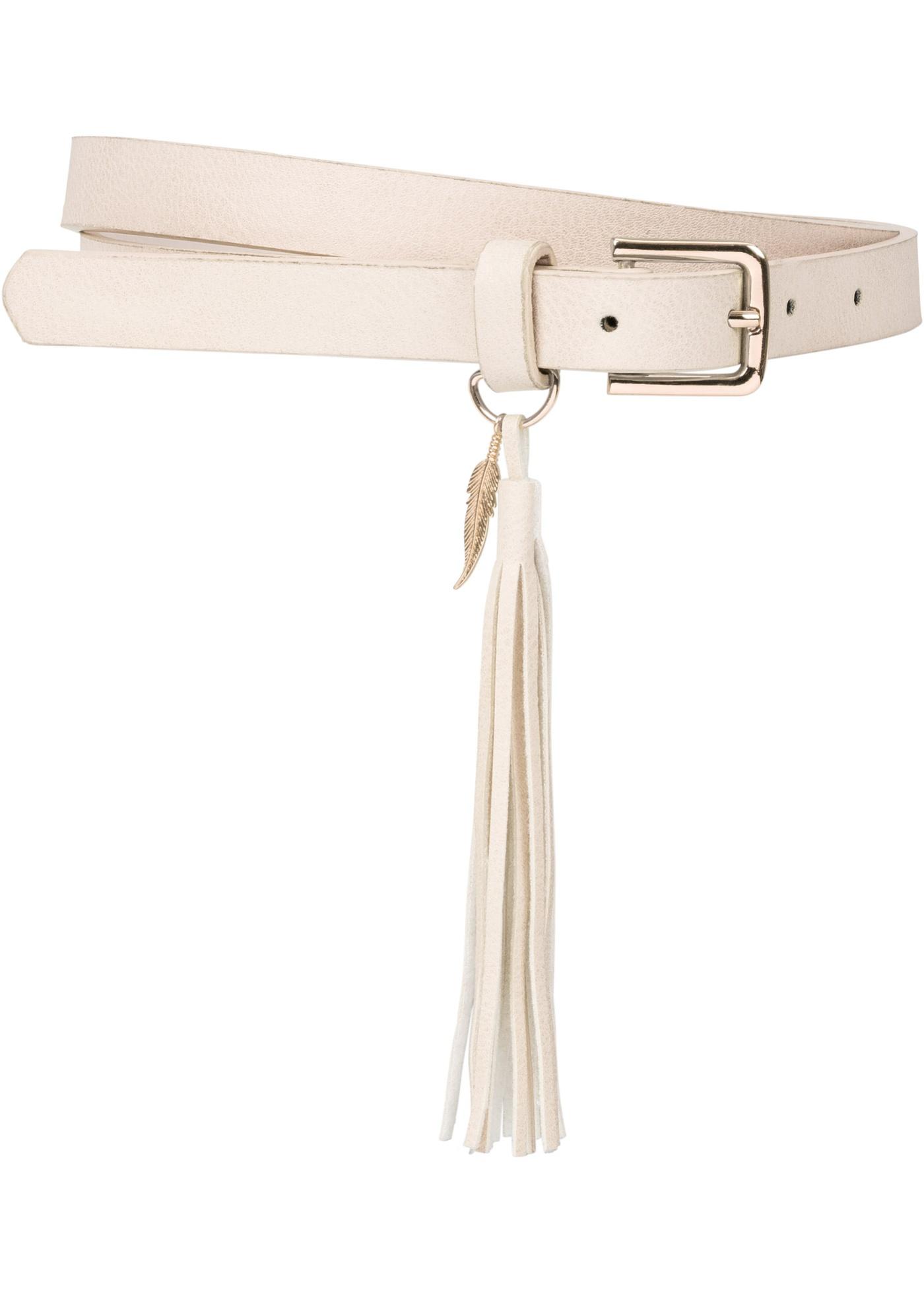 Cintura con nappina  Beig
