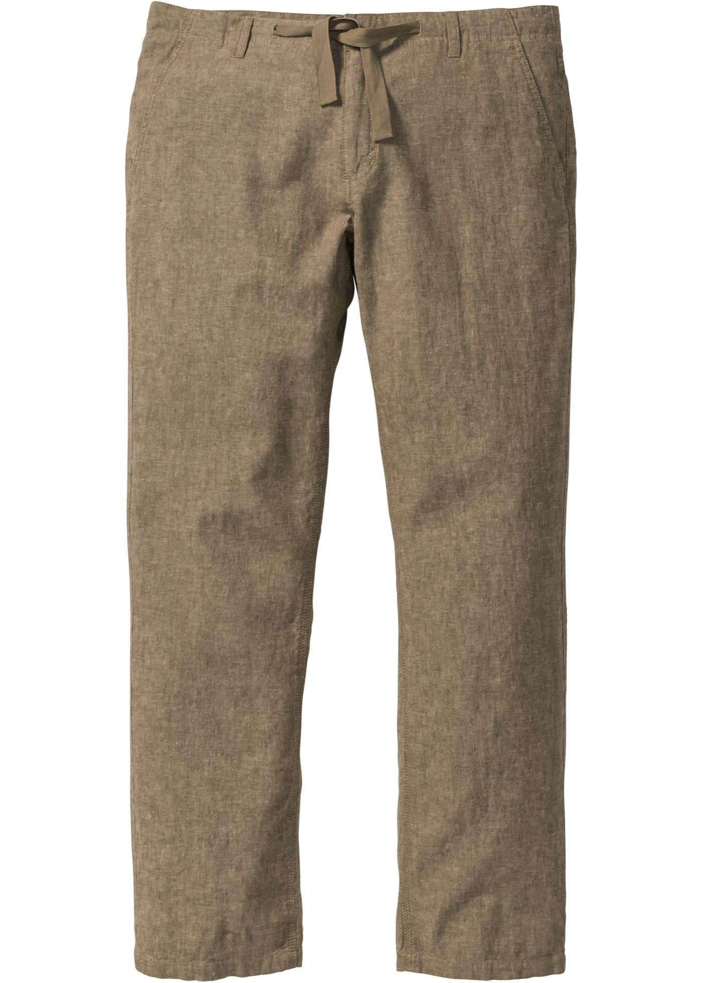 Pantalone in misto lino r