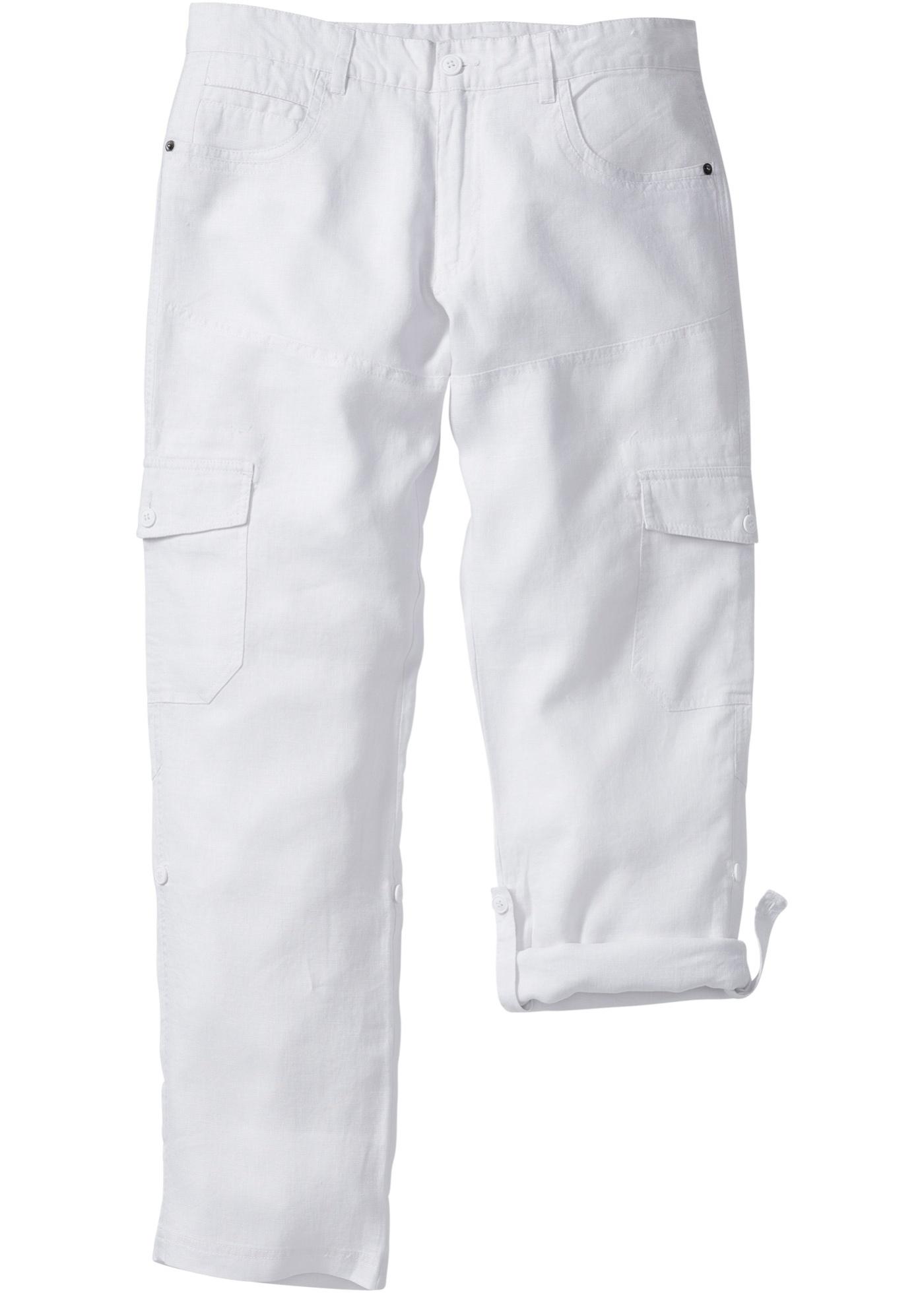 Pantalone cargo in puro l