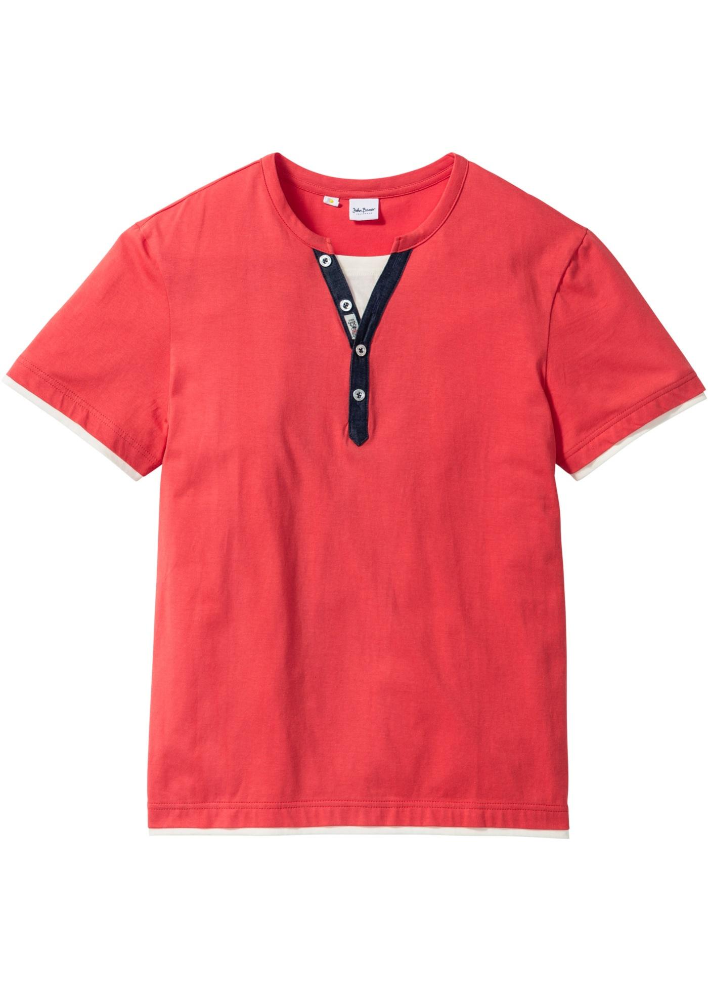 T-shirt con boottoncini r