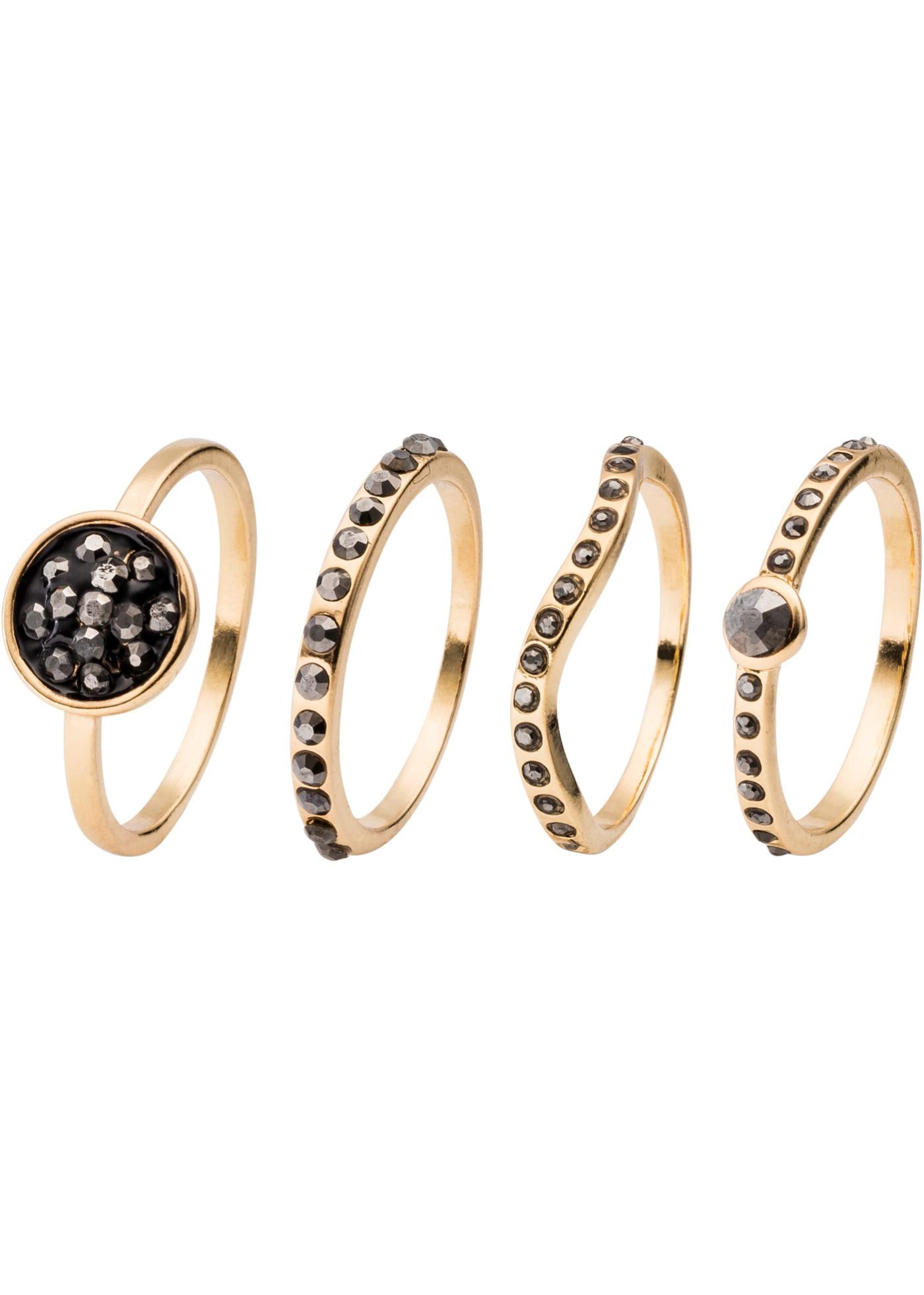 Set di anelli con pietre