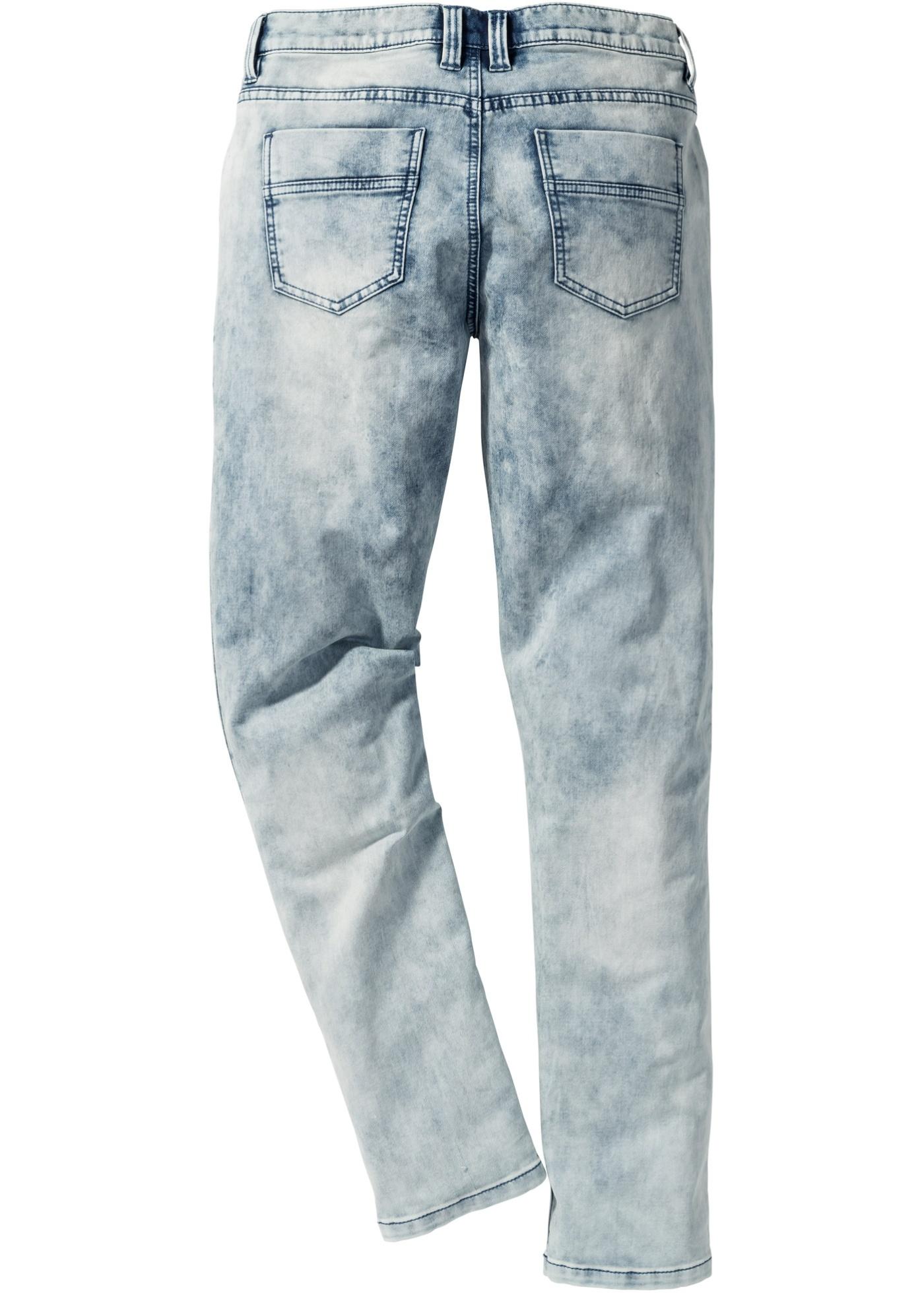 Jeans in felpa skinny fit