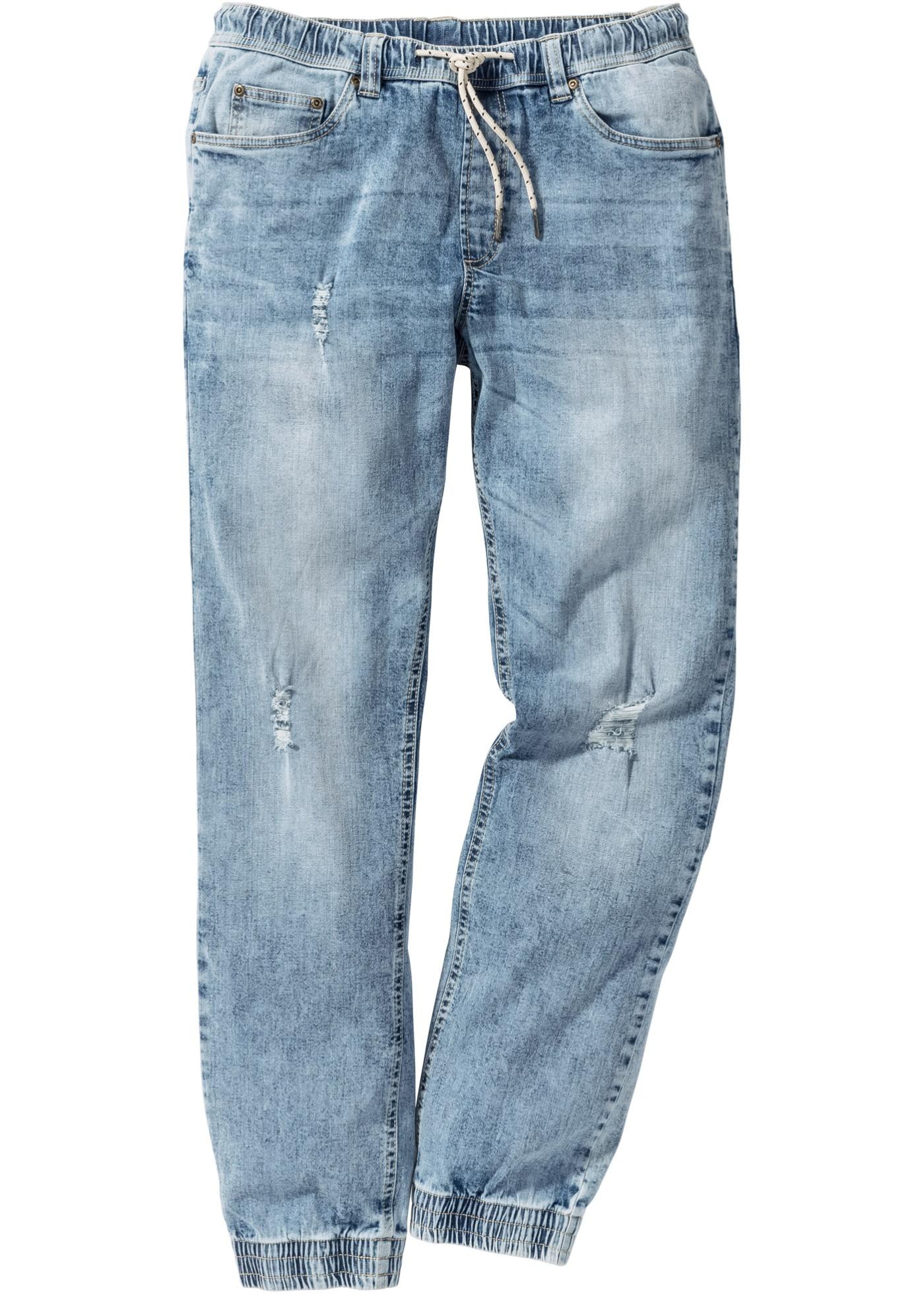 Jeans elasticizzato senza