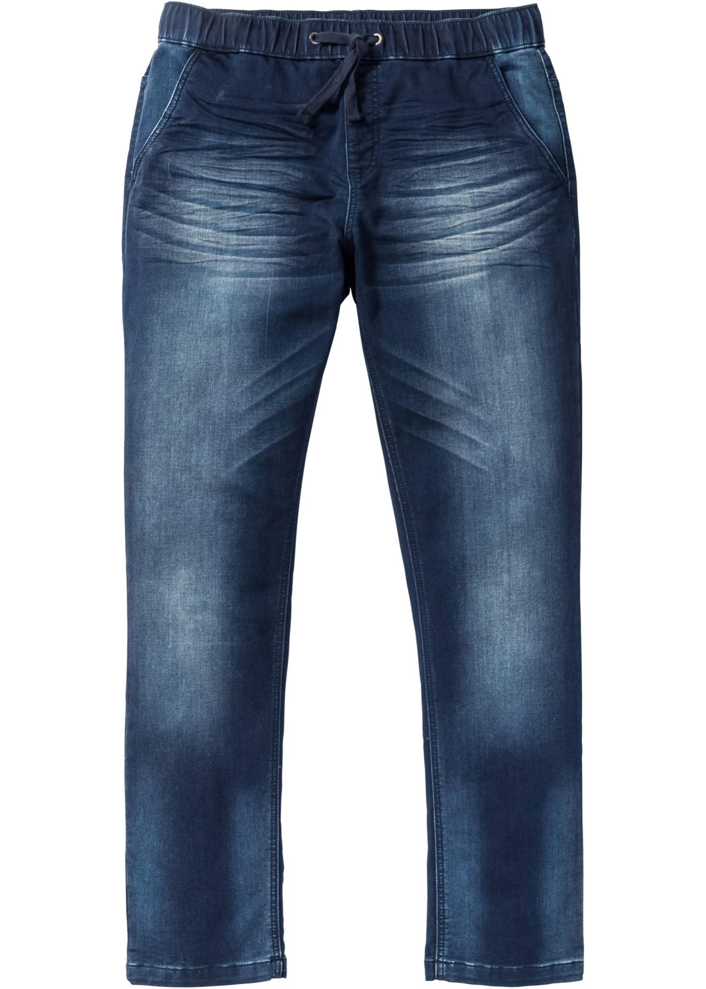 Jeans in felpa regular fi