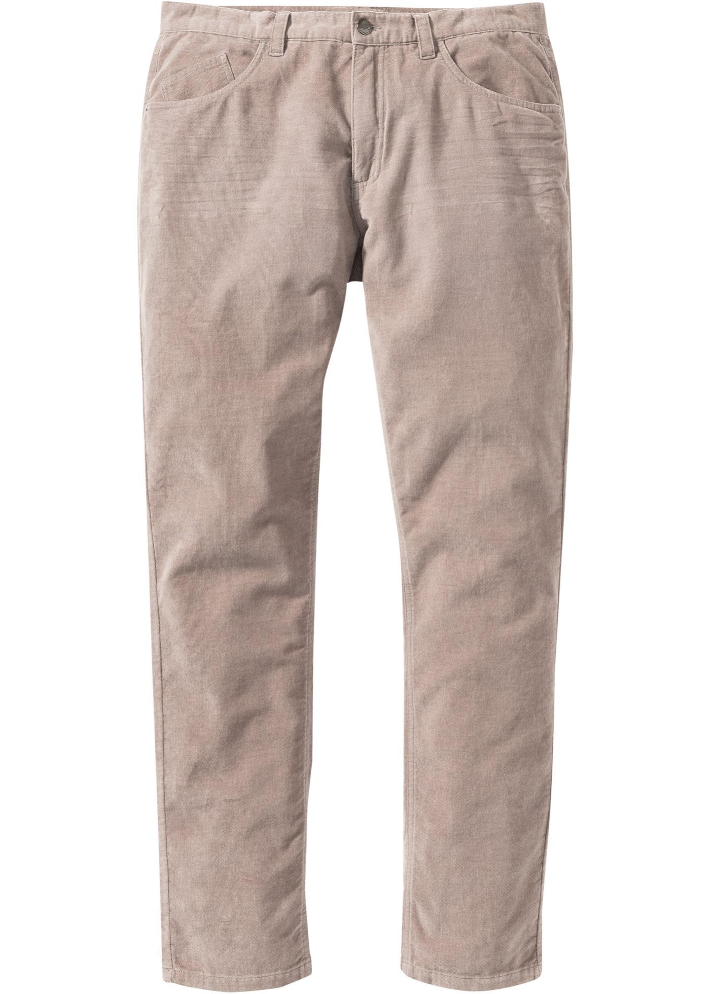 Pantalone 5 tasche in vel
