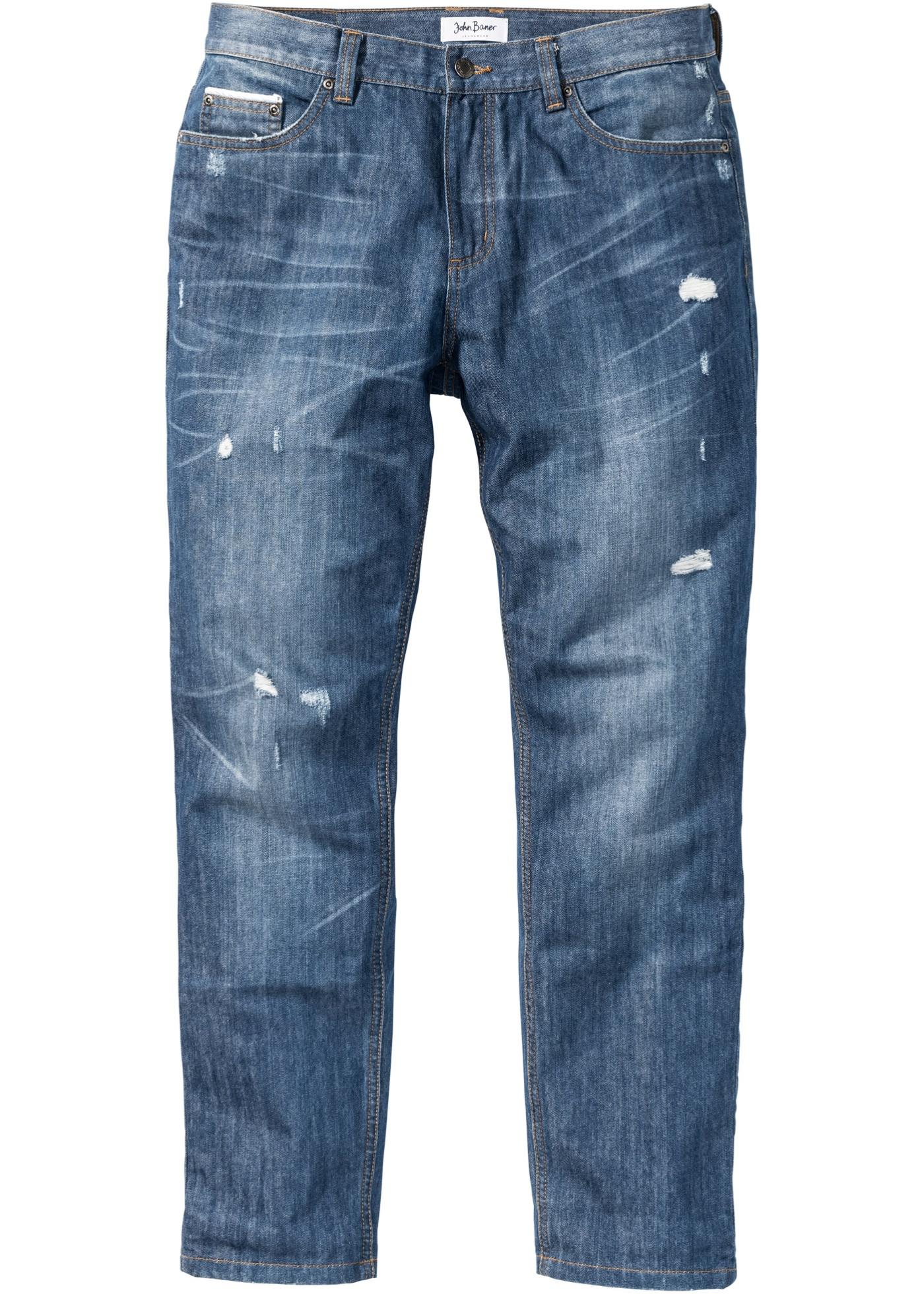 Jeans con profili riflett