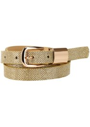 Cintura glitterata, bpc bonprix collection, Oro