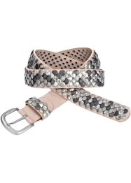 Cintura con borchie, bpc bonprix collection, Rosa
